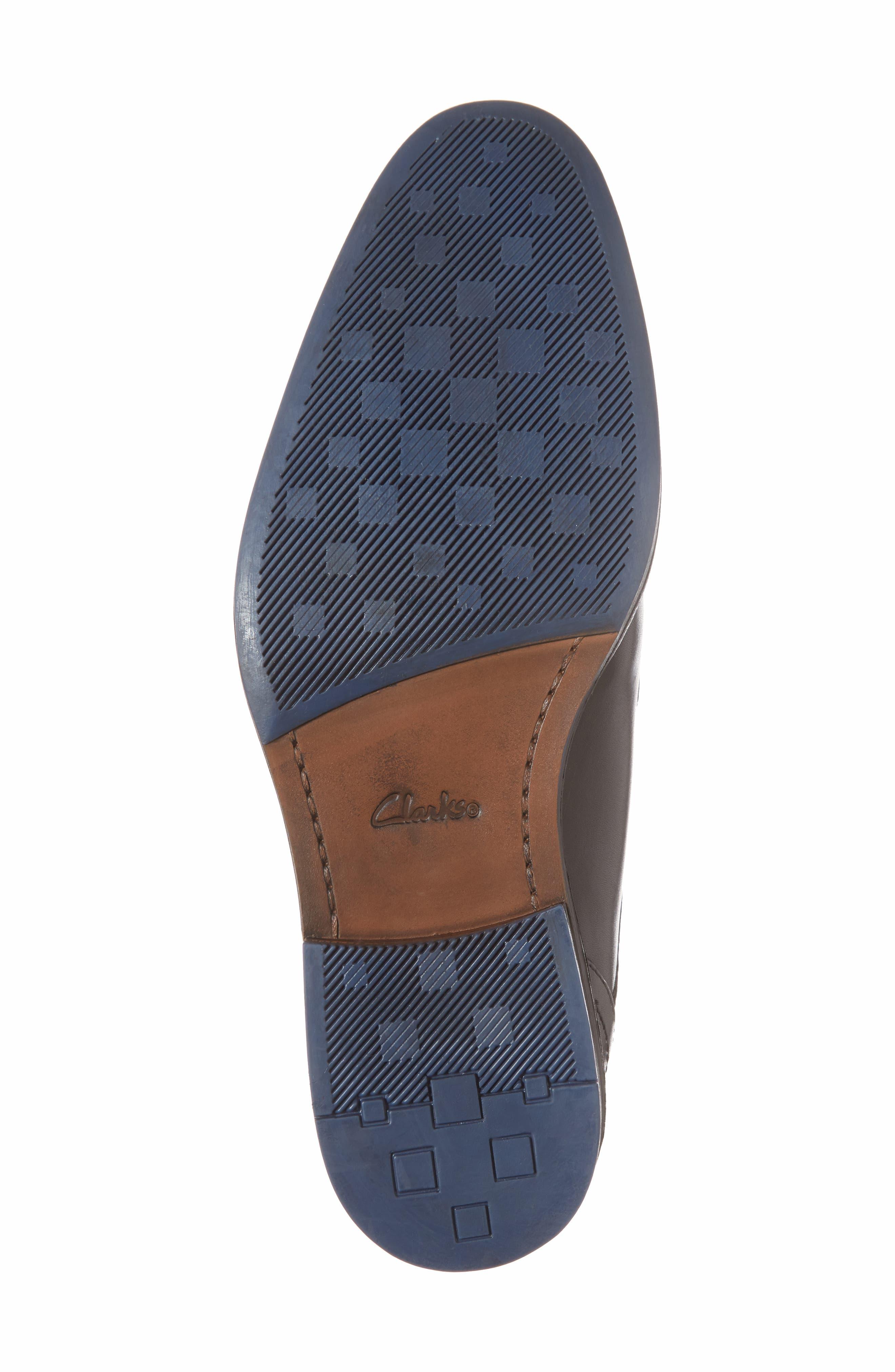 Clarks<sup>®</sup> Prangley Walk Plain Toe Derby,                             Alternate thumbnail 6, color,                             003