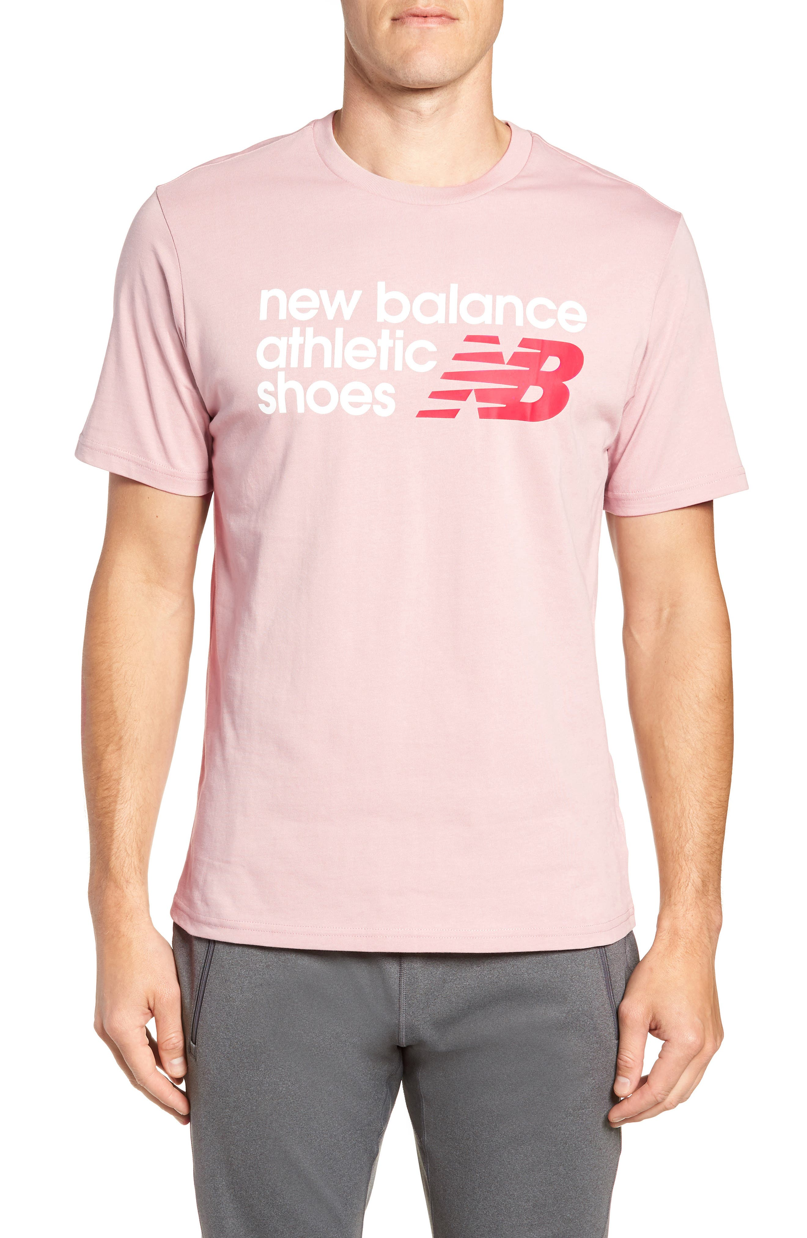 New Balance Nb Shoe Box Graphic T-Shirt, Pink