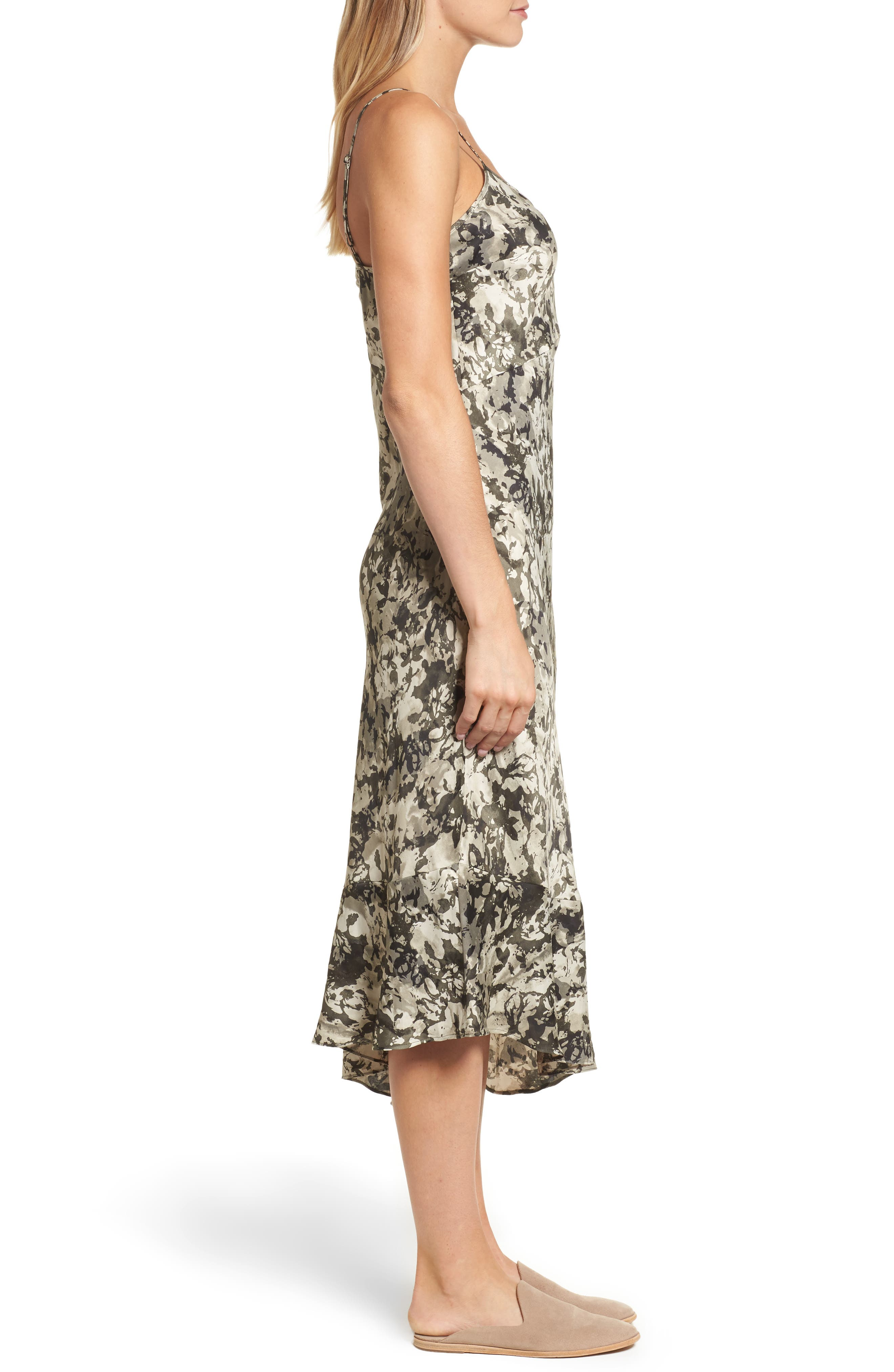 Camisole Midi Dress,                             Alternate thumbnail 3, color,