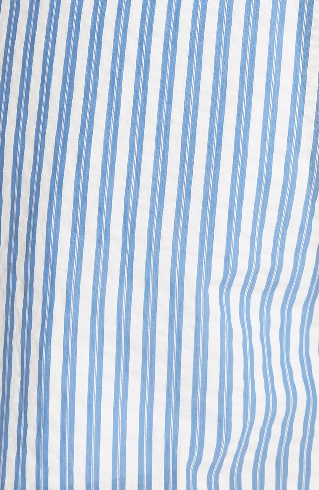 Serpentine Stripe Shorts,                             Alternate thumbnail 5, color,