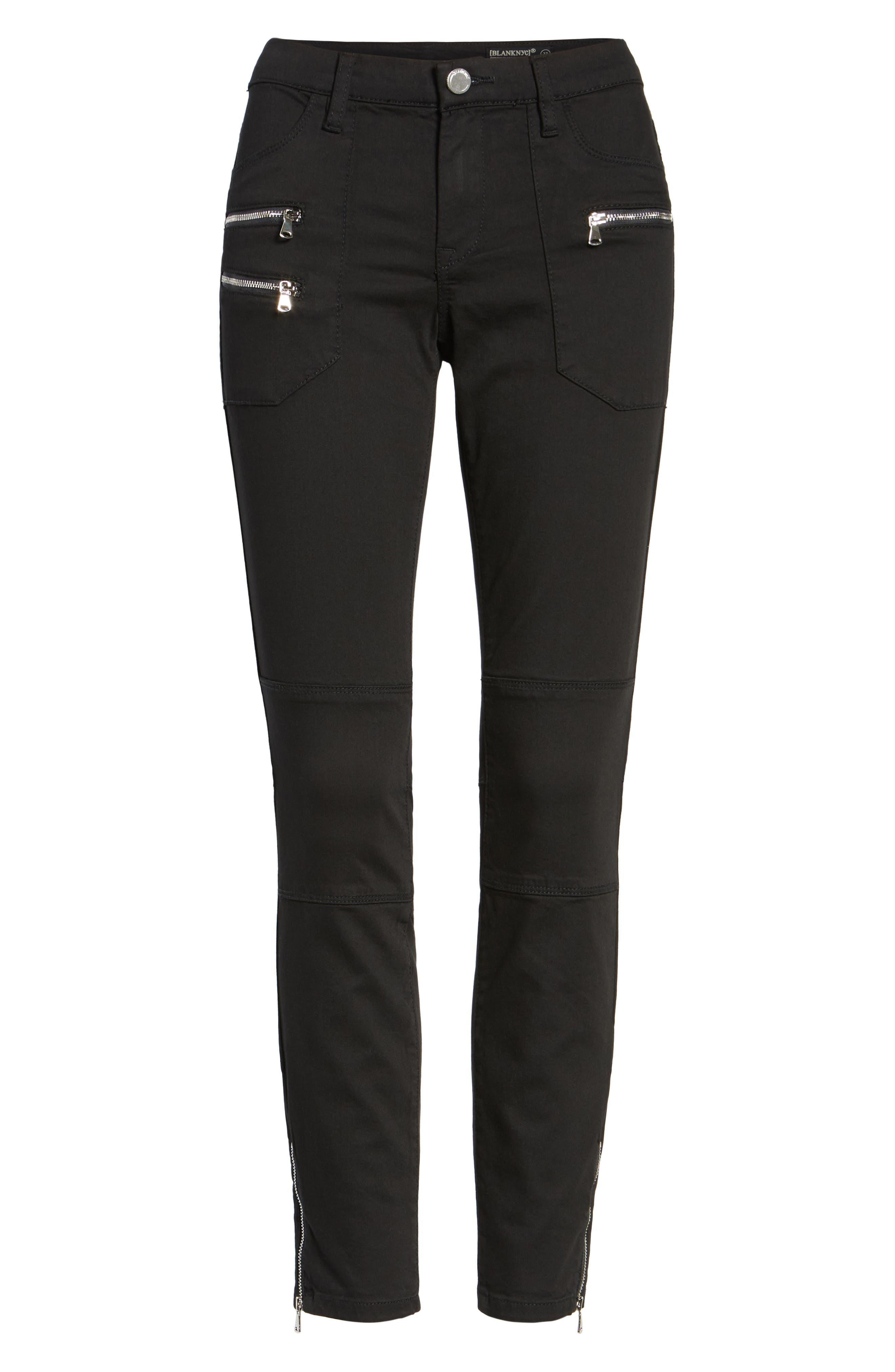Private Party Skinny Jeans,                             Alternate thumbnail 6, color,                             001