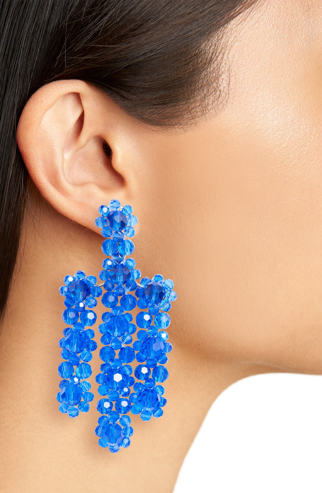the bead goes on statement earrings,                             Alternate thumbnail 4, color,