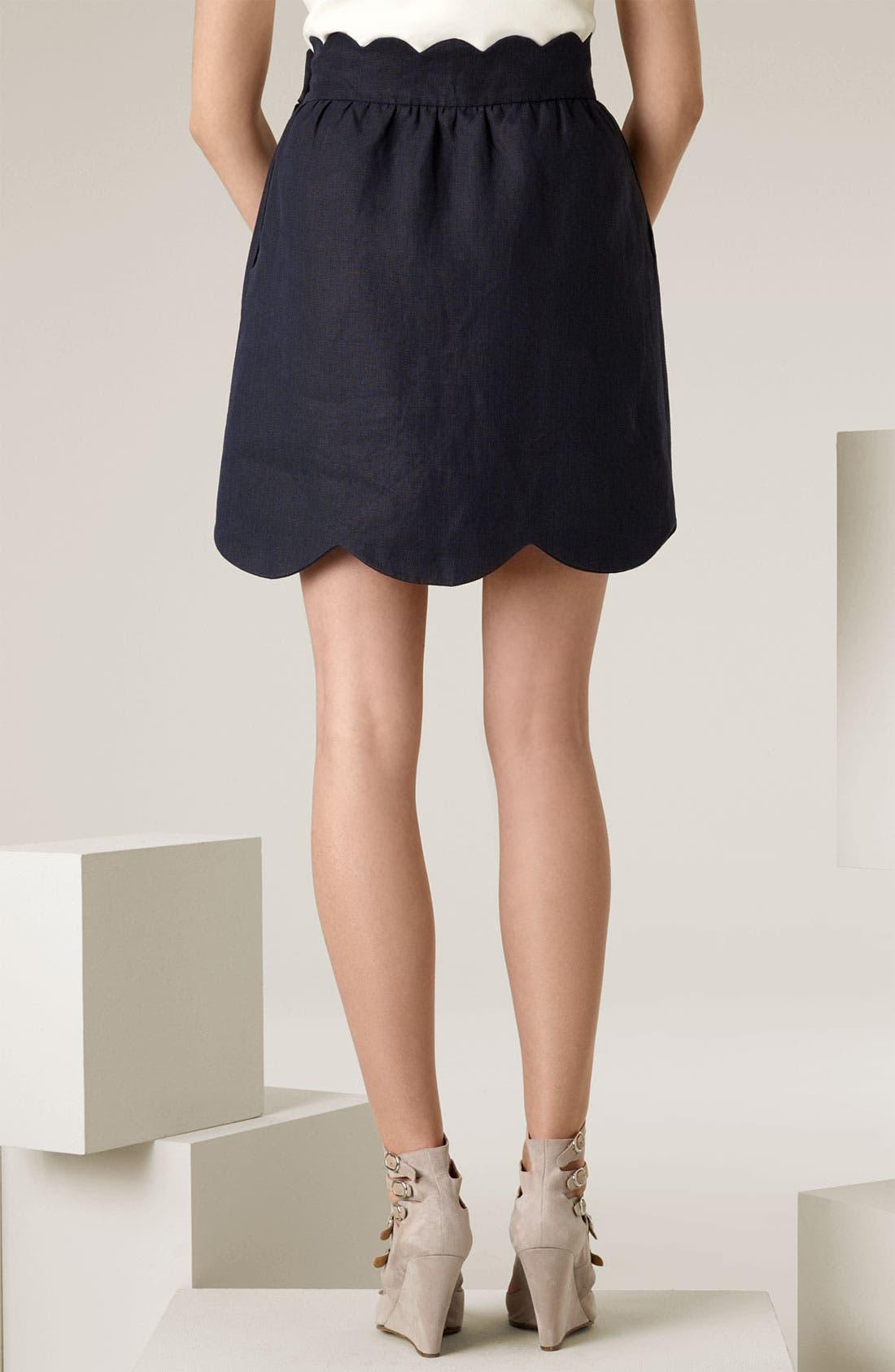 Scallop Skirt,                             Alternate thumbnail 2, color,                             400