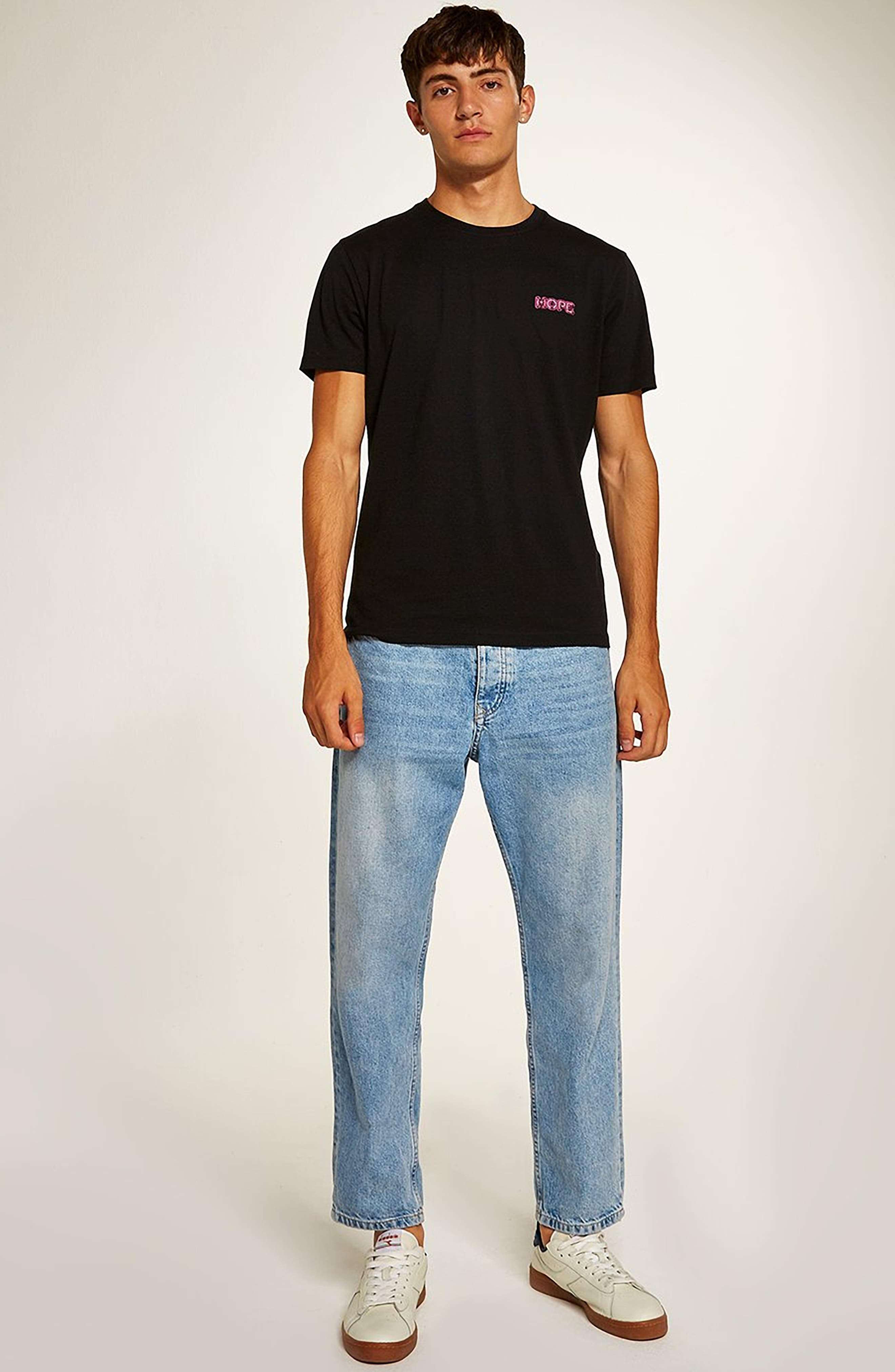 Still Hope Classic Fit T-Shirt,                             Alternate thumbnail 5, color,                             BLACK MULTI