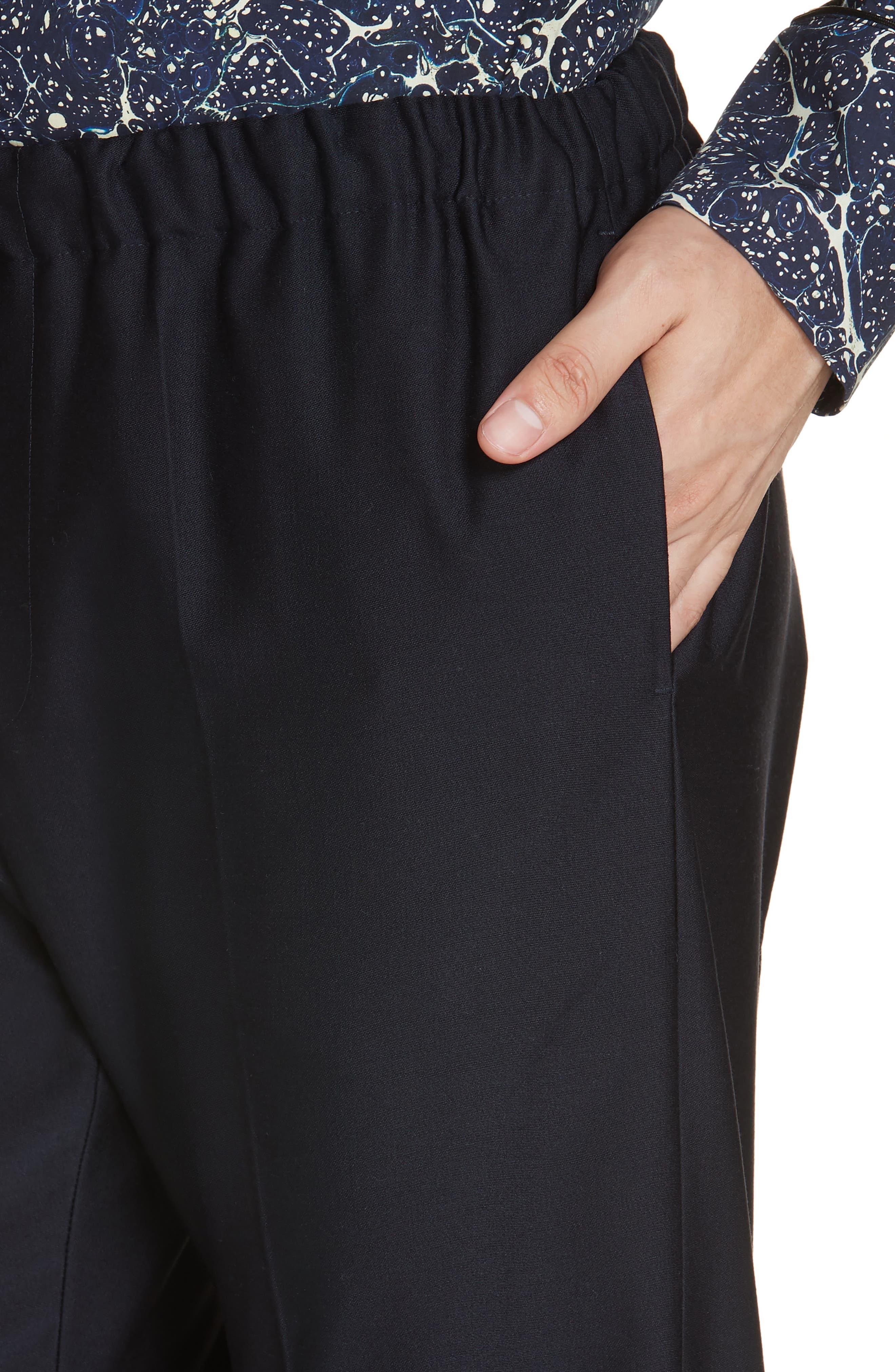 Perkino Drawstring Waist Pants,                             Alternate thumbnail 4, color,                             410