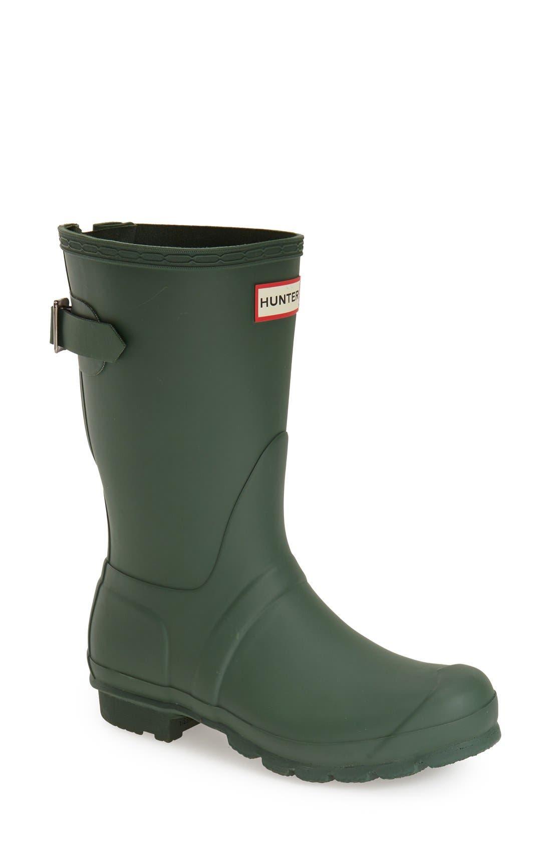 Original Short Back Adjustable Rain Boot,                             Main thumbnail 7, color,