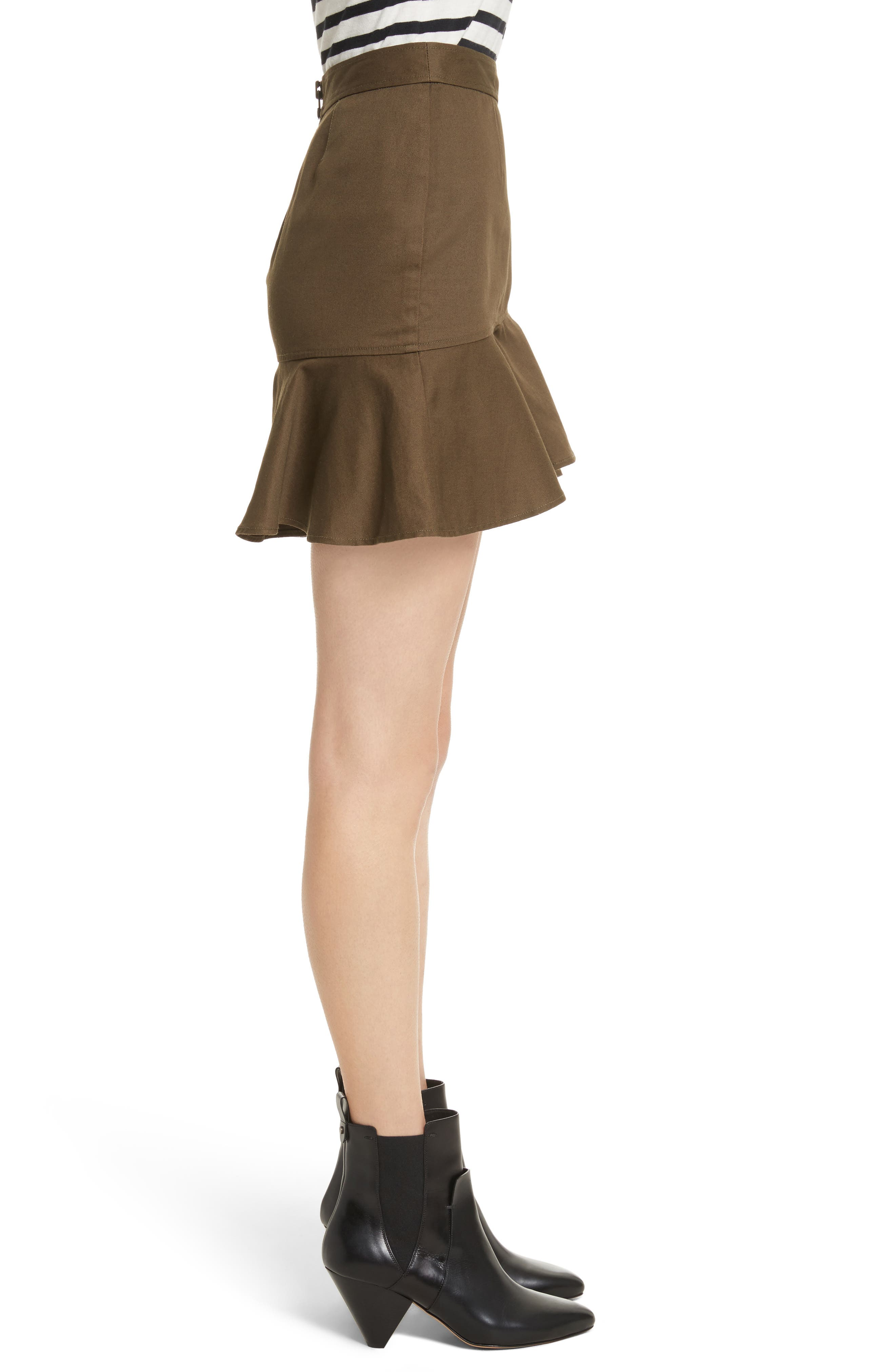 Claremont Flounce Skirt,                             Alternate thumbnail 3, color,                             310