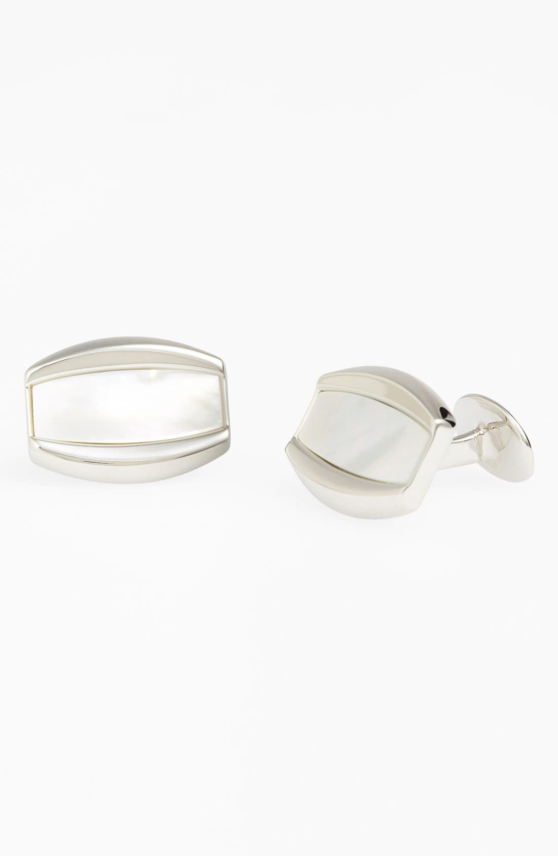 Mother of Pearl Cuff Links,                         Main,                         color, 040