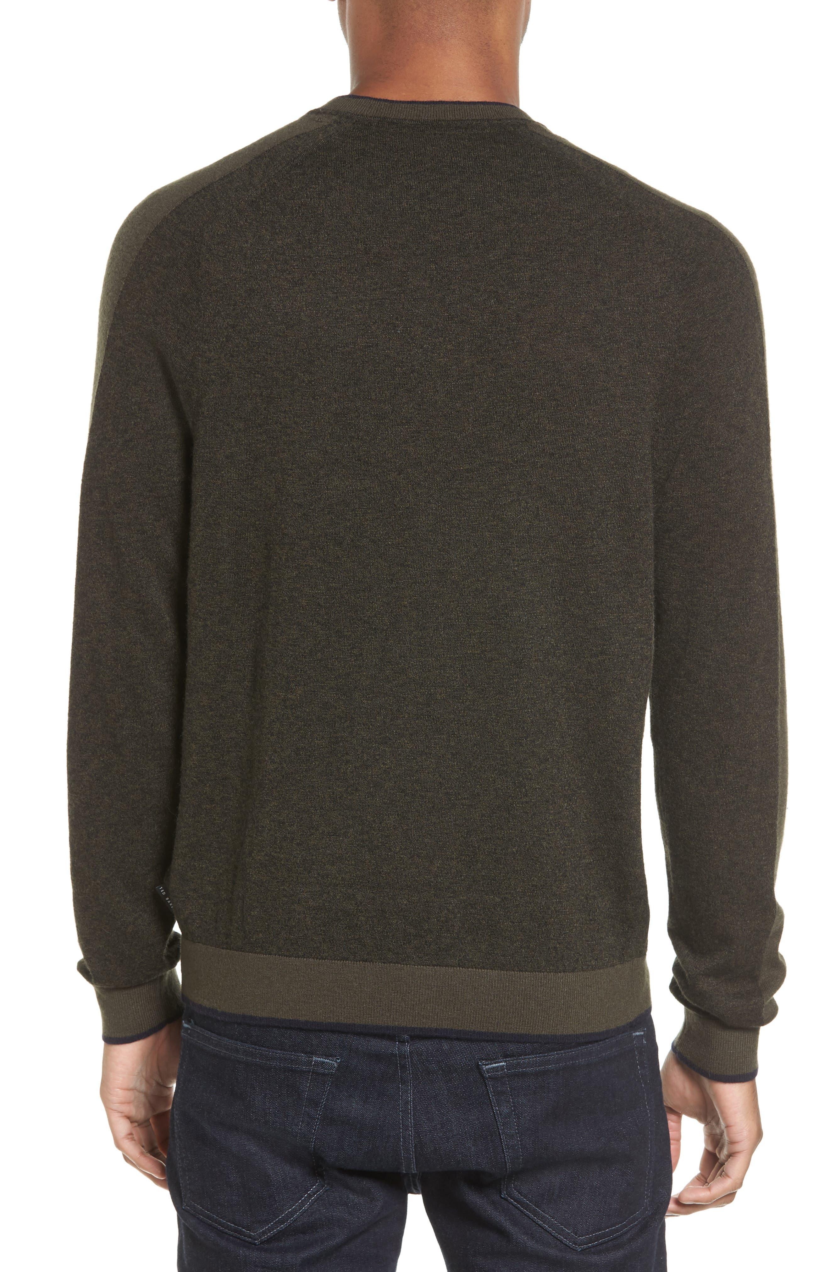 Norpol Crewneck Sweater,                             Alternate thumbnail 6, color,