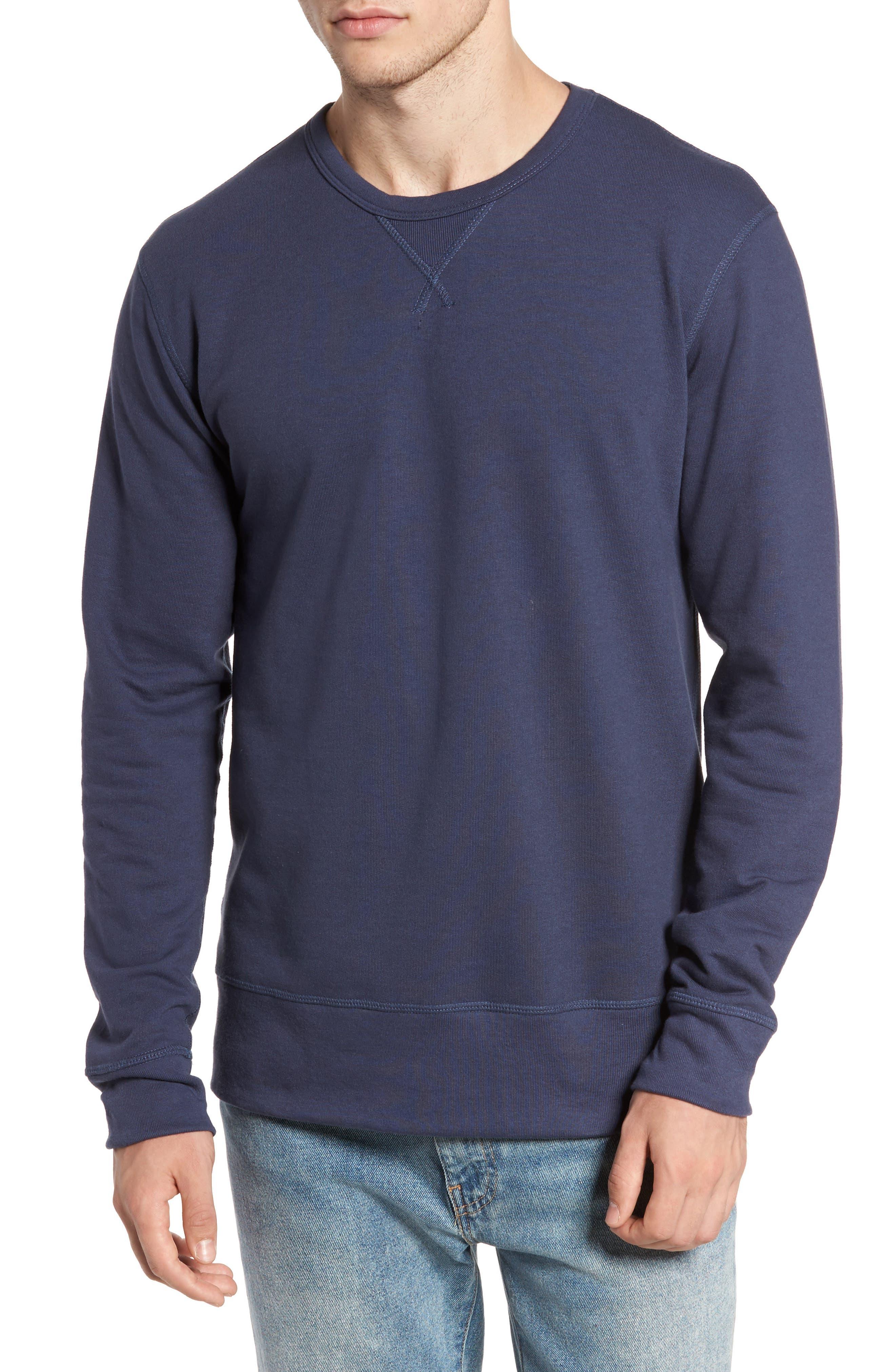 B-Side Reversible Crewneck Sweatshirt,                             Main thumbnail 5, color,