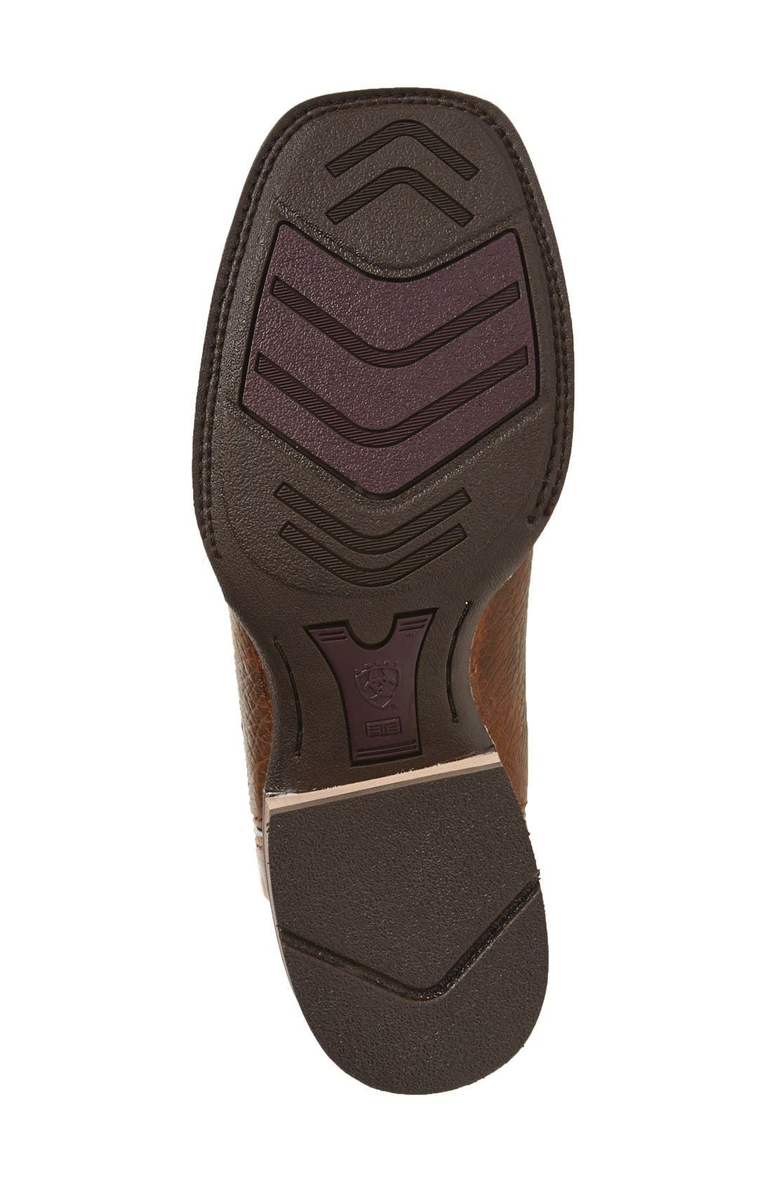 ARIAT,                             'Quickdraw Snake' Cowboy Boot,                             Alternate thumbnail 4, color,                             200