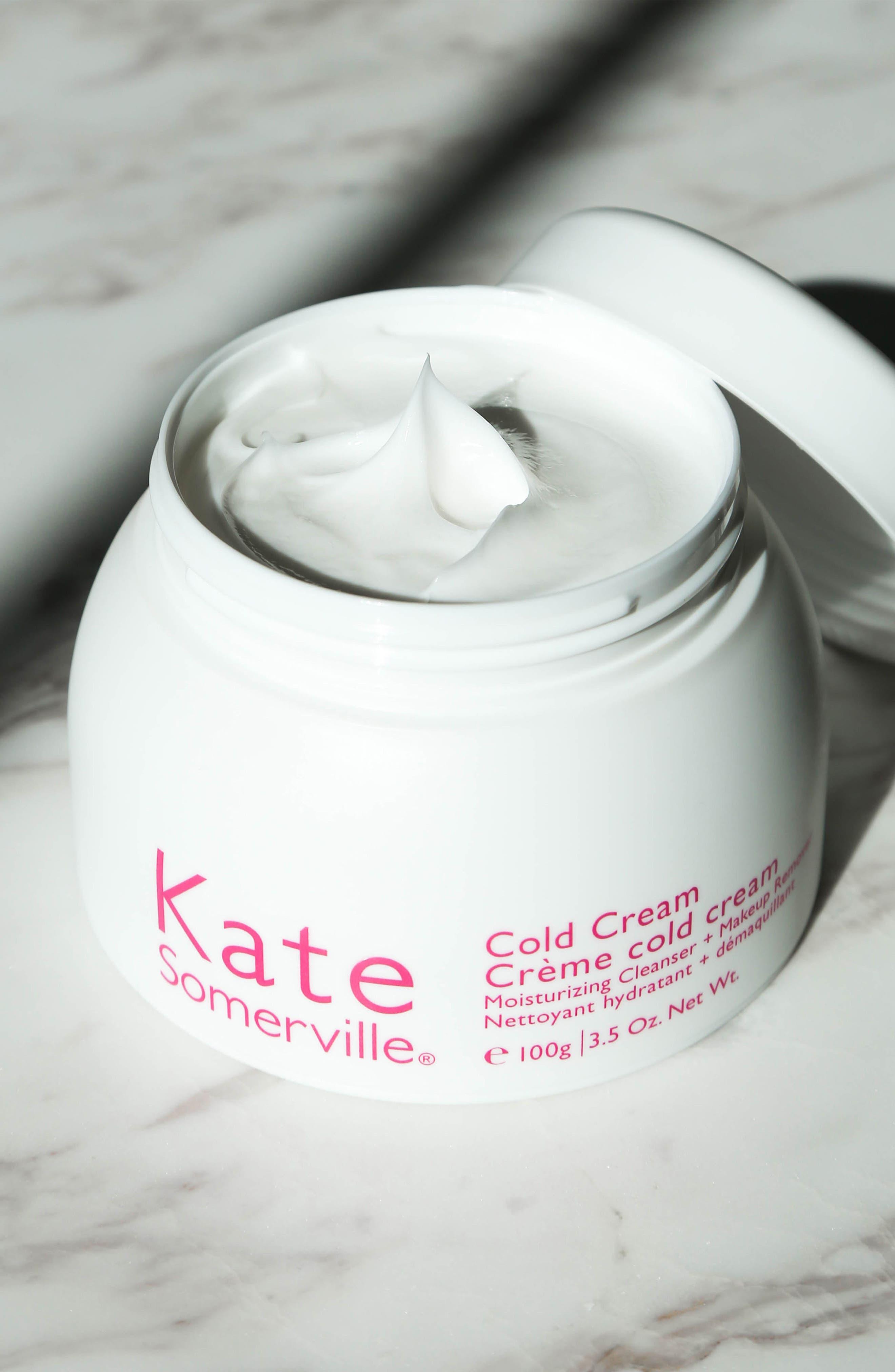 Cold Cream Moisturizing Cleanser + Makeup Remover,                             Alternate thumbnail 5, color,                             NO COLOR