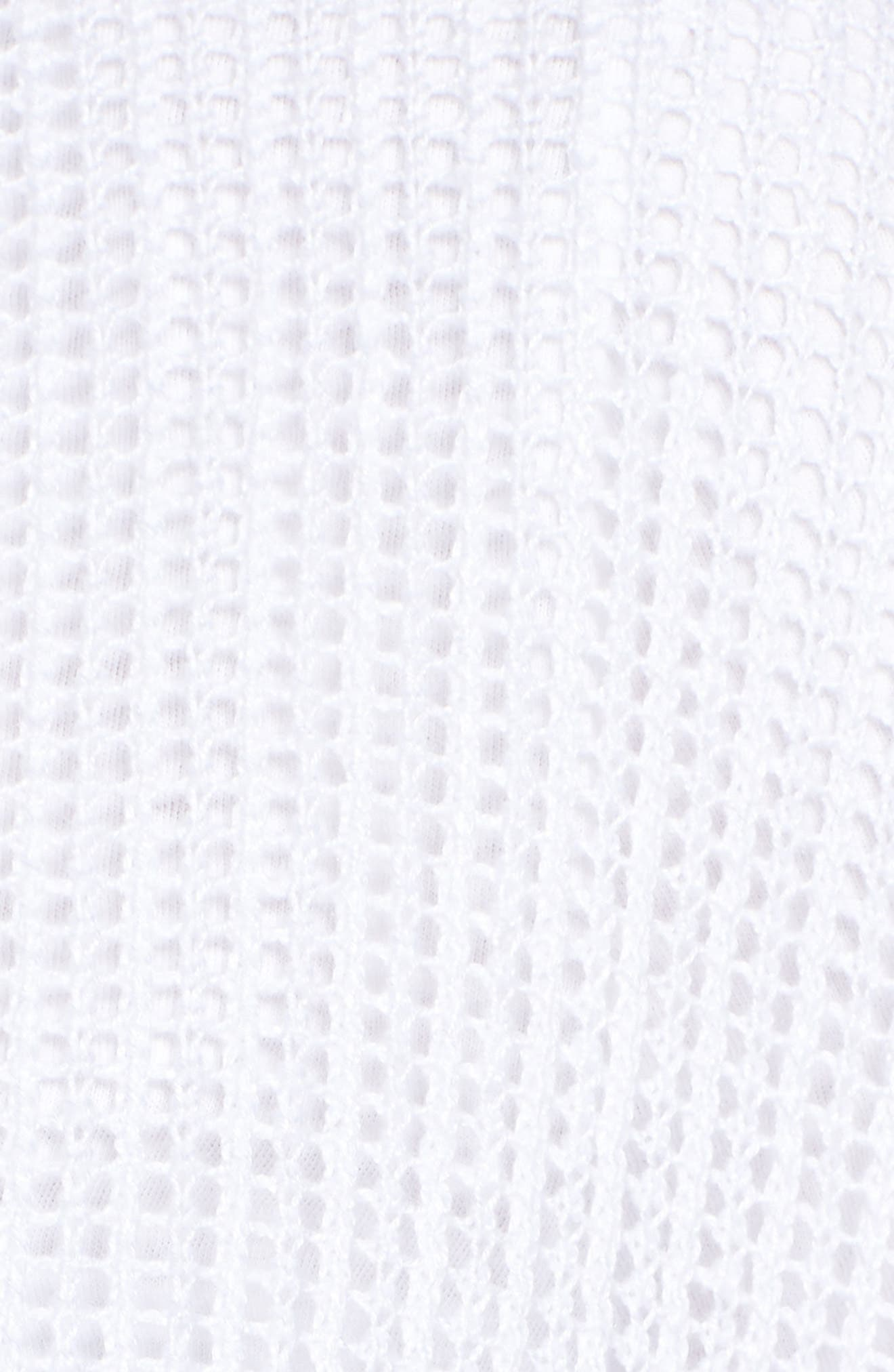 Boxy Organic Linen Cardigan,                             Alternate thumbnail 6, color,                             100