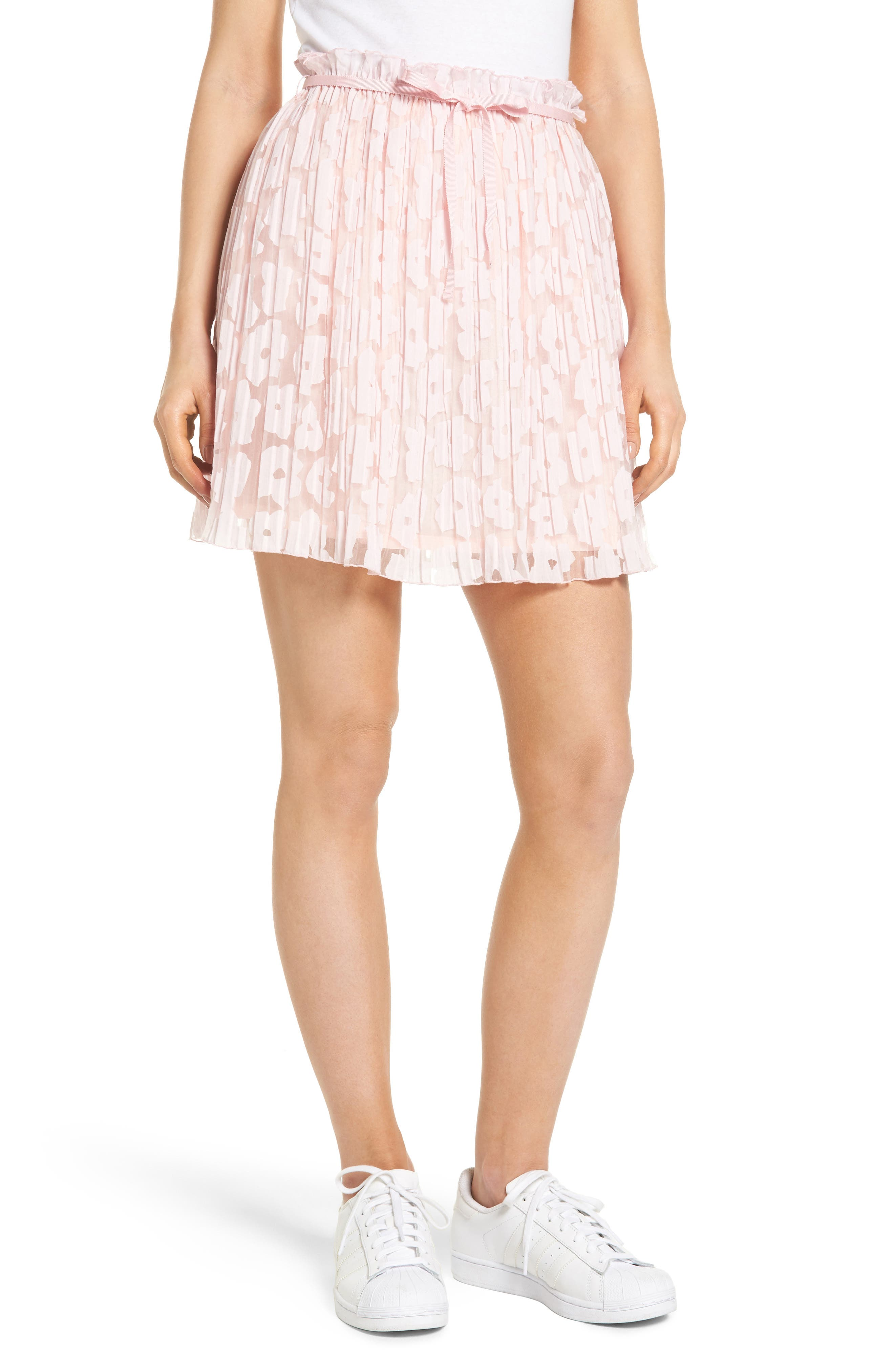 Karlie Burnout Skirt,                             Main thumbnail 1, color,                             650