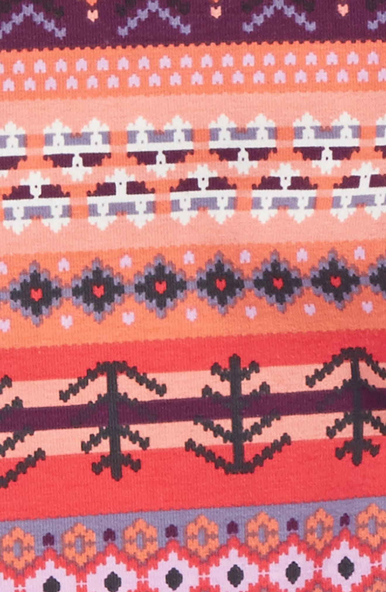 Fair Isle Leggings,                             Alternate thumbnail 2, color,                             698