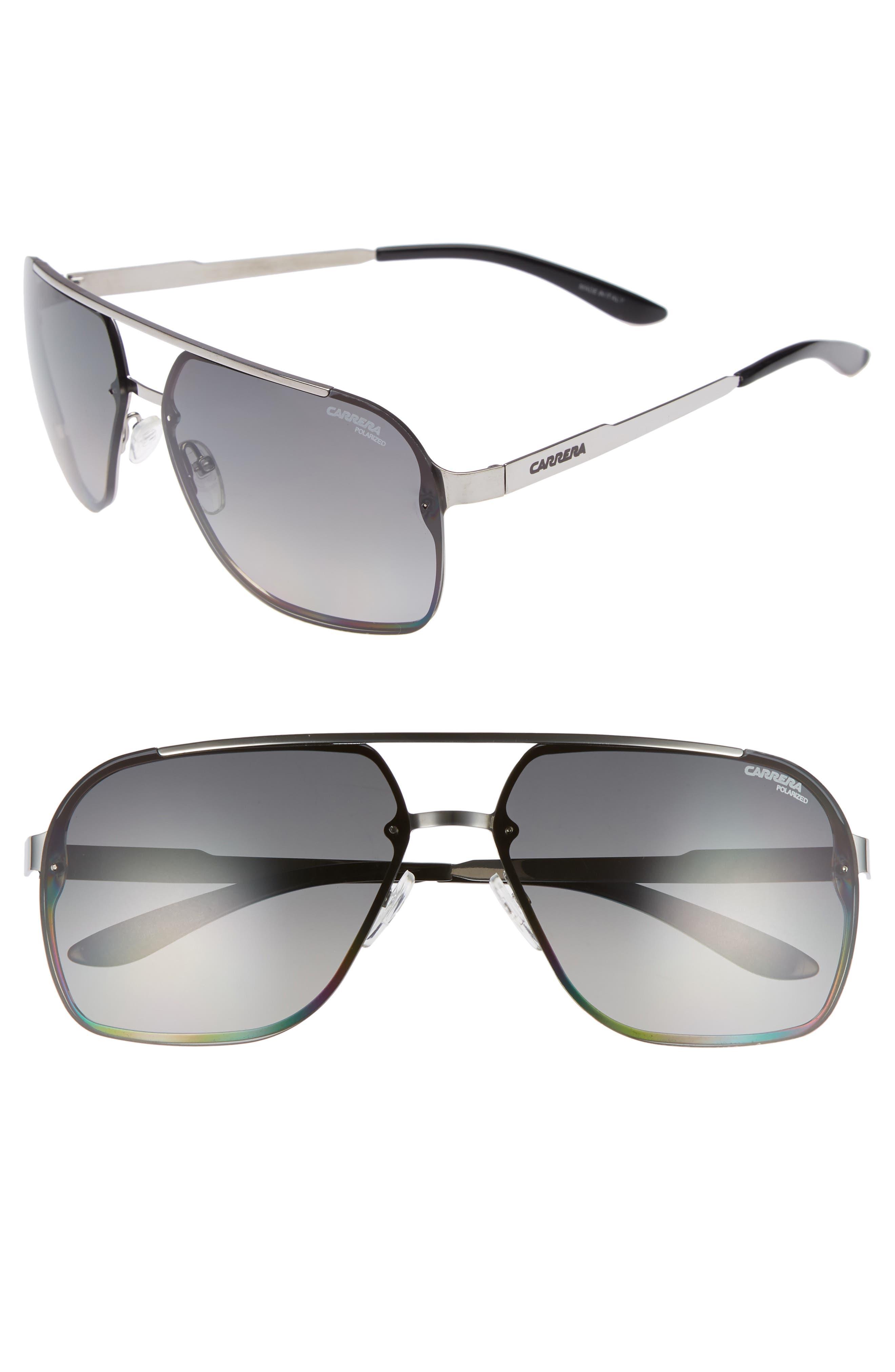 Carrera Eyewear Navigator Polarized Sunglasses - Ruthenium