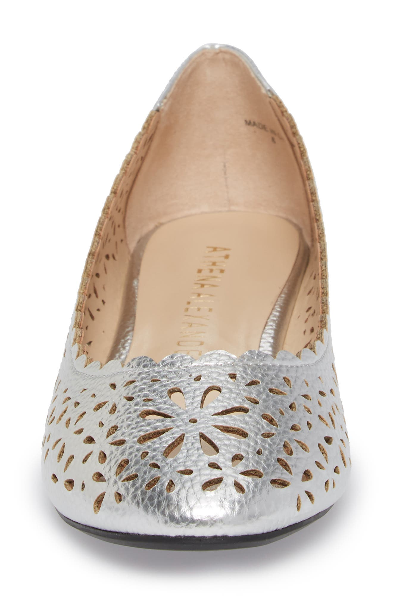 Annora Perforated Flat,                             Alternate thumbnail 11, color,