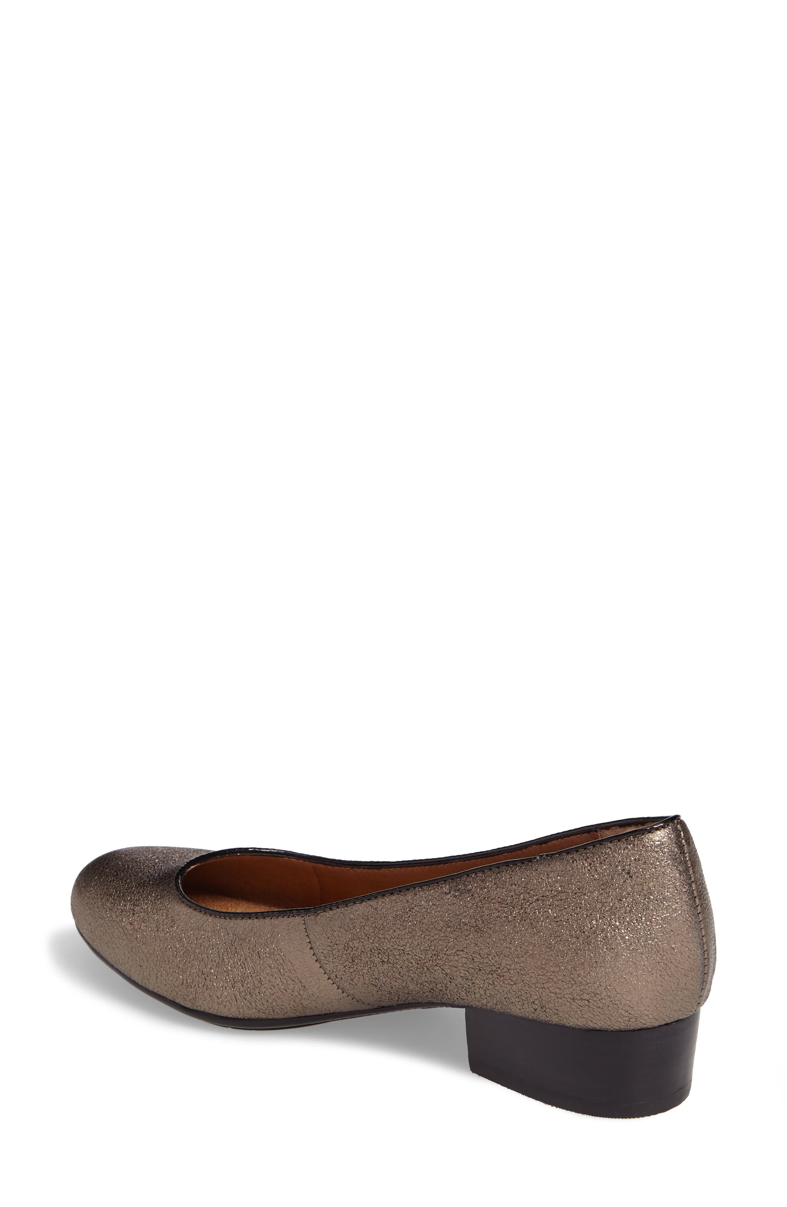Belicia Pump,                             Alternate thumbnail 2, color,                             COPPER/ BLACK LEATHER