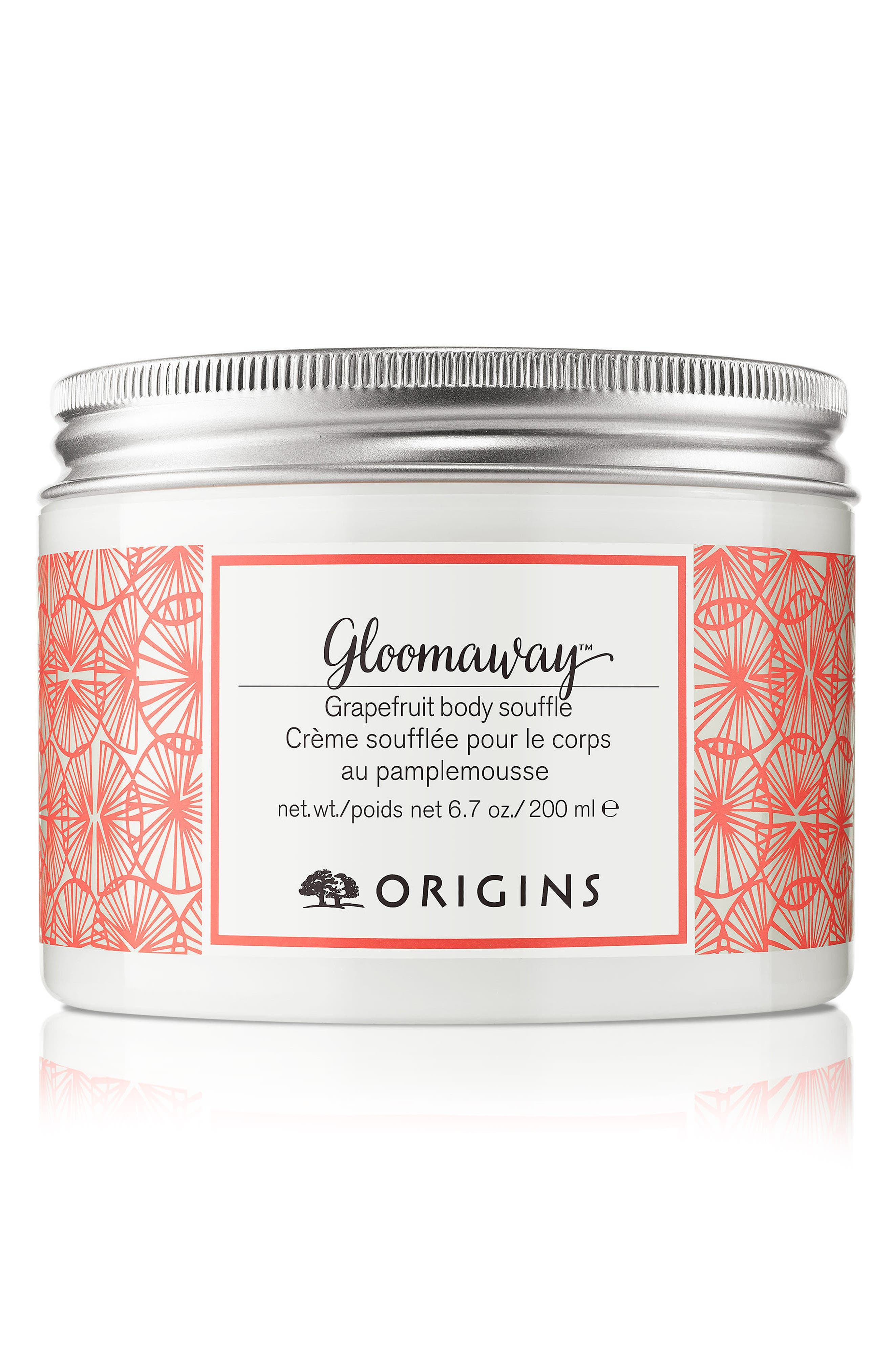ORIGINS,                             Gloomaway<sup>™</sup> Grapefruit Body Soufflé,                             Main thumbnail 1, color,                             NO COLOR