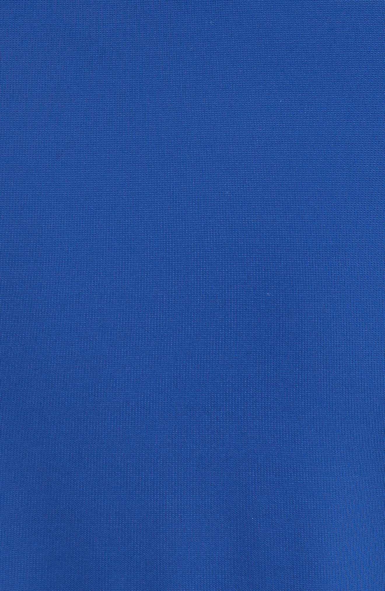 Jersey Twist Front Midi Skirt,                             Alternate thumbnail 5, color,