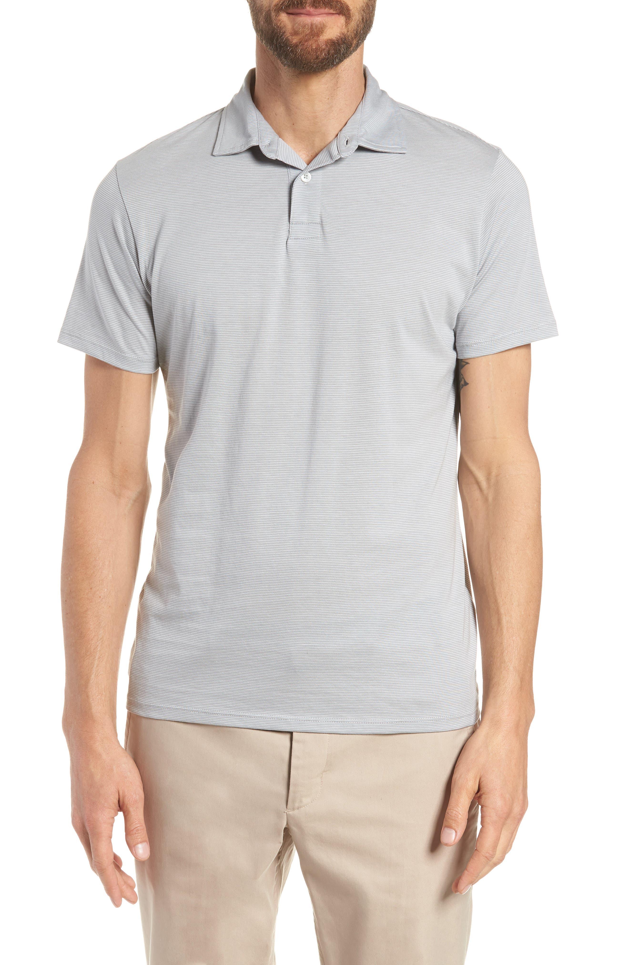 Superfine Slim Fit Polo,                         Main,                         color, 020
