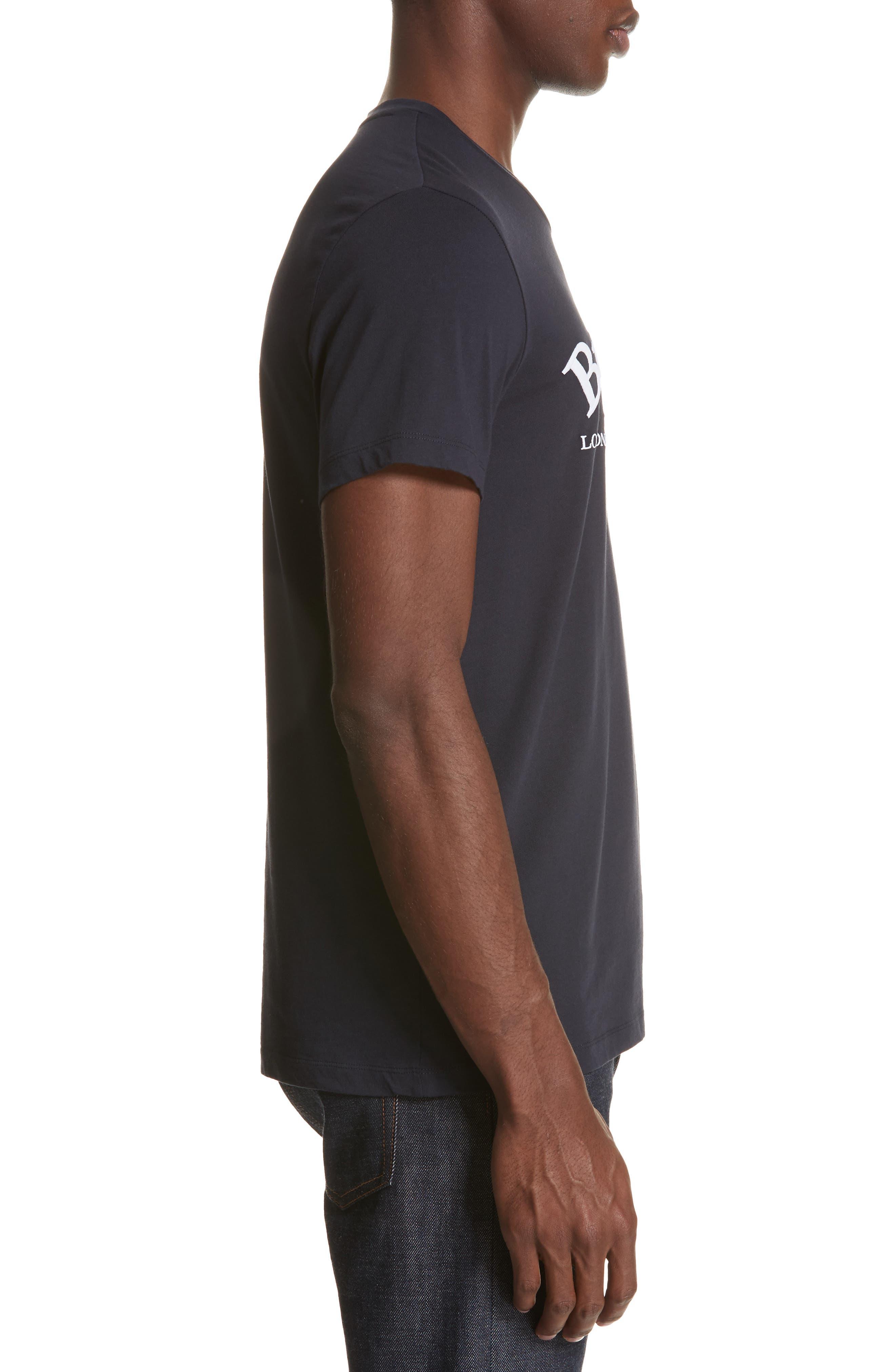 Pairi City Logo T-Shirt,                             Alternate thumbnail 3, color,                             NAVY