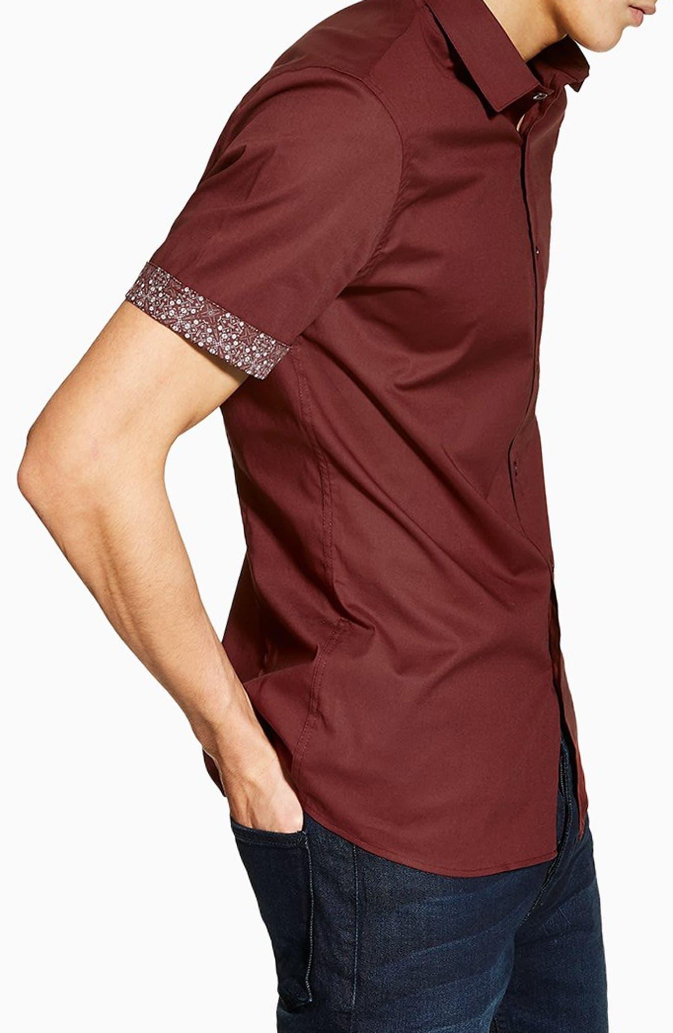 Stretch Skinny Fit Shirt by Topman