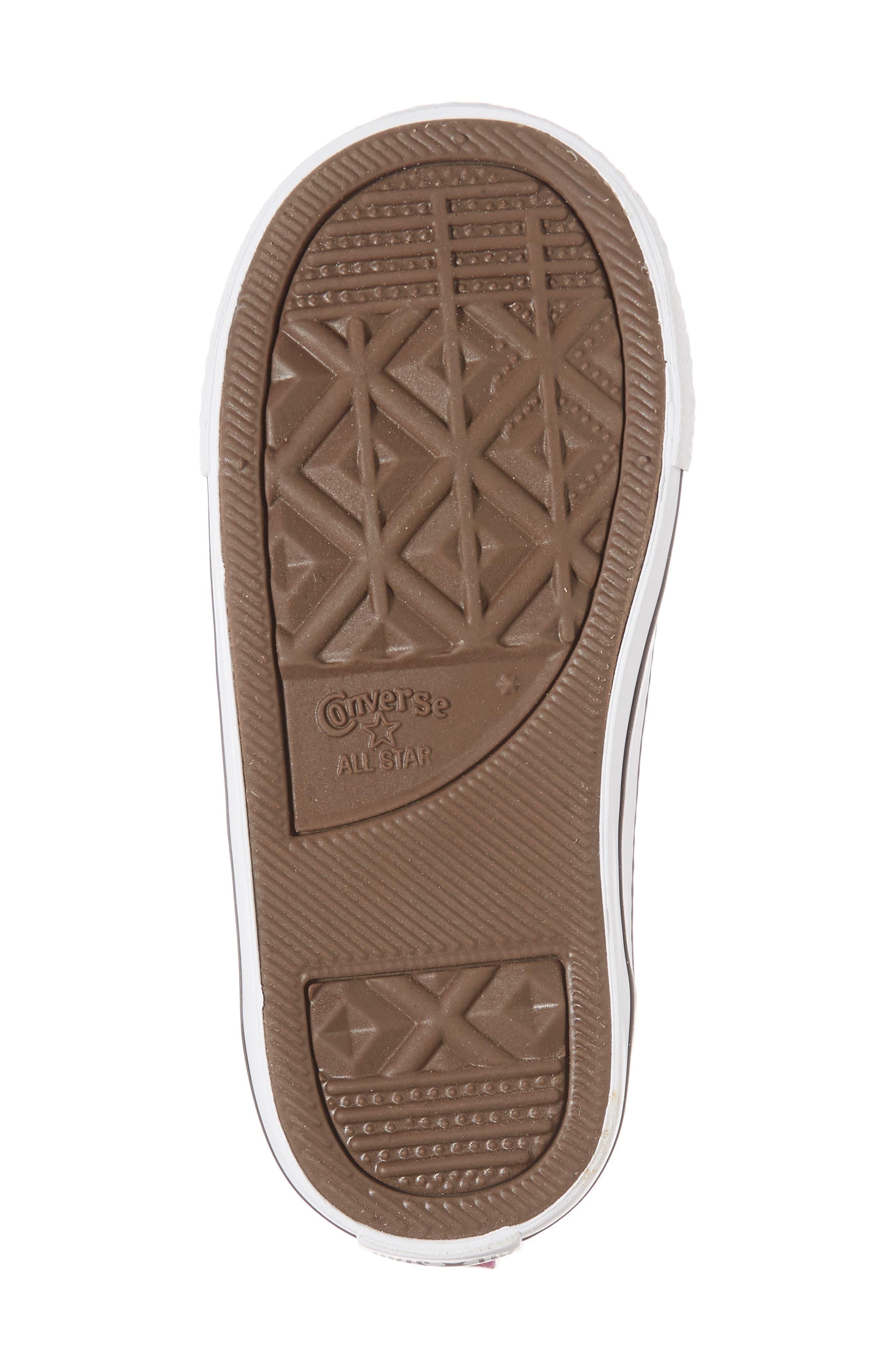 All Star<sup>®</sup> Seasonal Glitter Sneaker,                             Alternate thumbnail 6, color,                             500