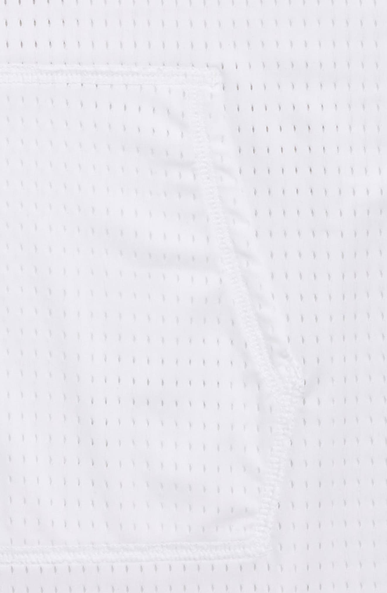 Hooded Mesh Cover-Up Dress,                             Alternate thumbnail 2, color,                             100
