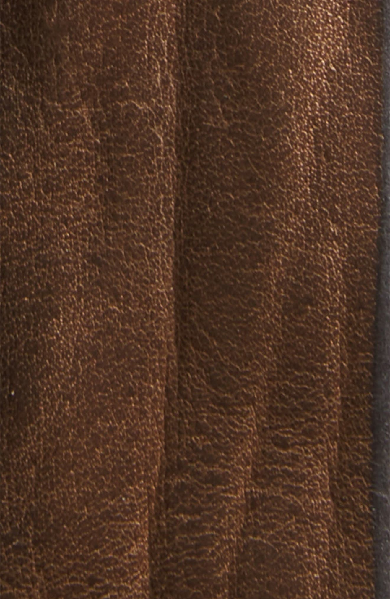 Wax Leather Belt,                             Alternate thumbnail 2, color,                             200