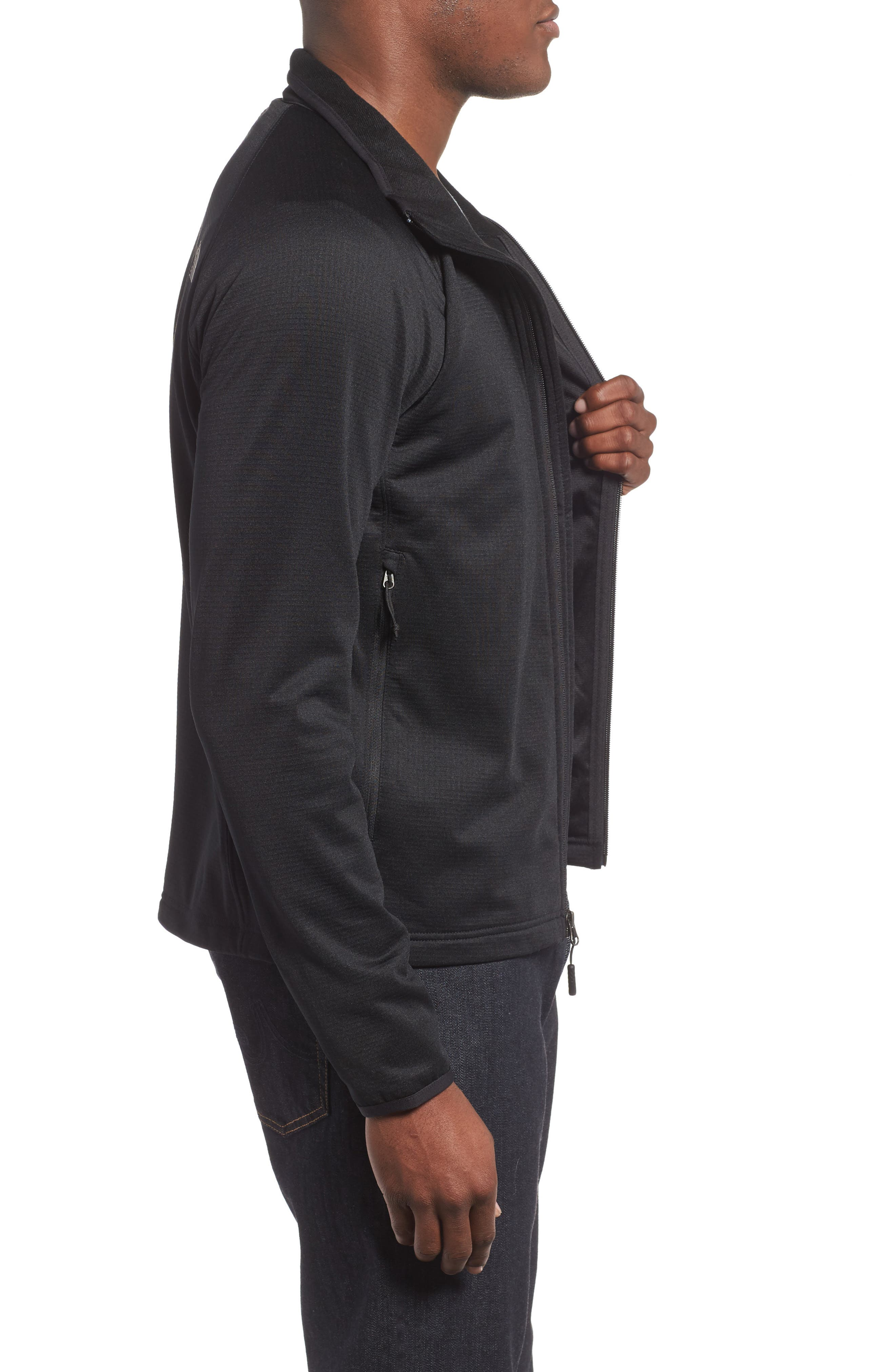 Borod Jacket,                             Alternate thumbnail 3, color,                             TNF BLACK/ TNF BLACK