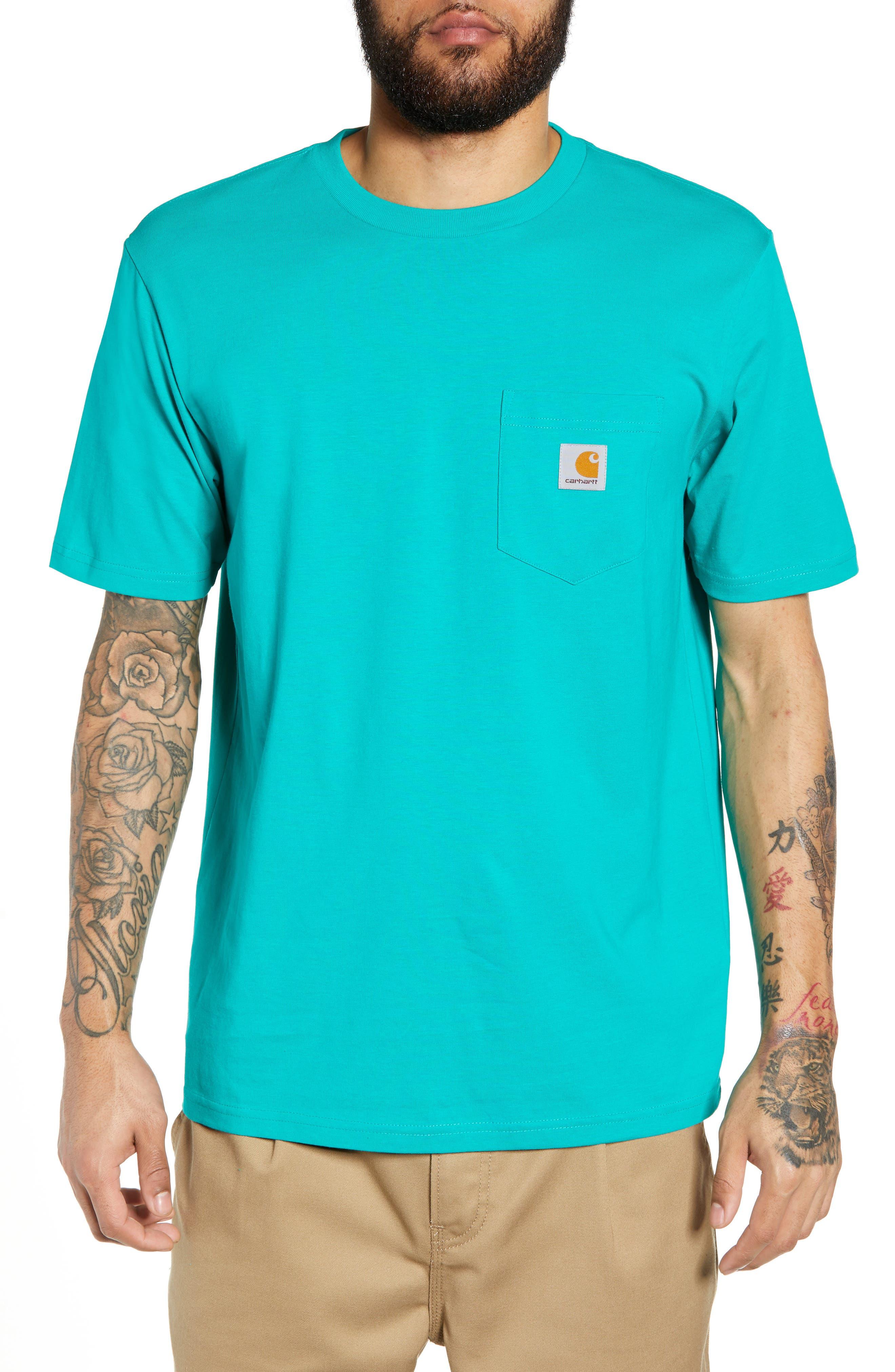 Logo Pocket T-Shirt,                         Main,                         color, CAUMA