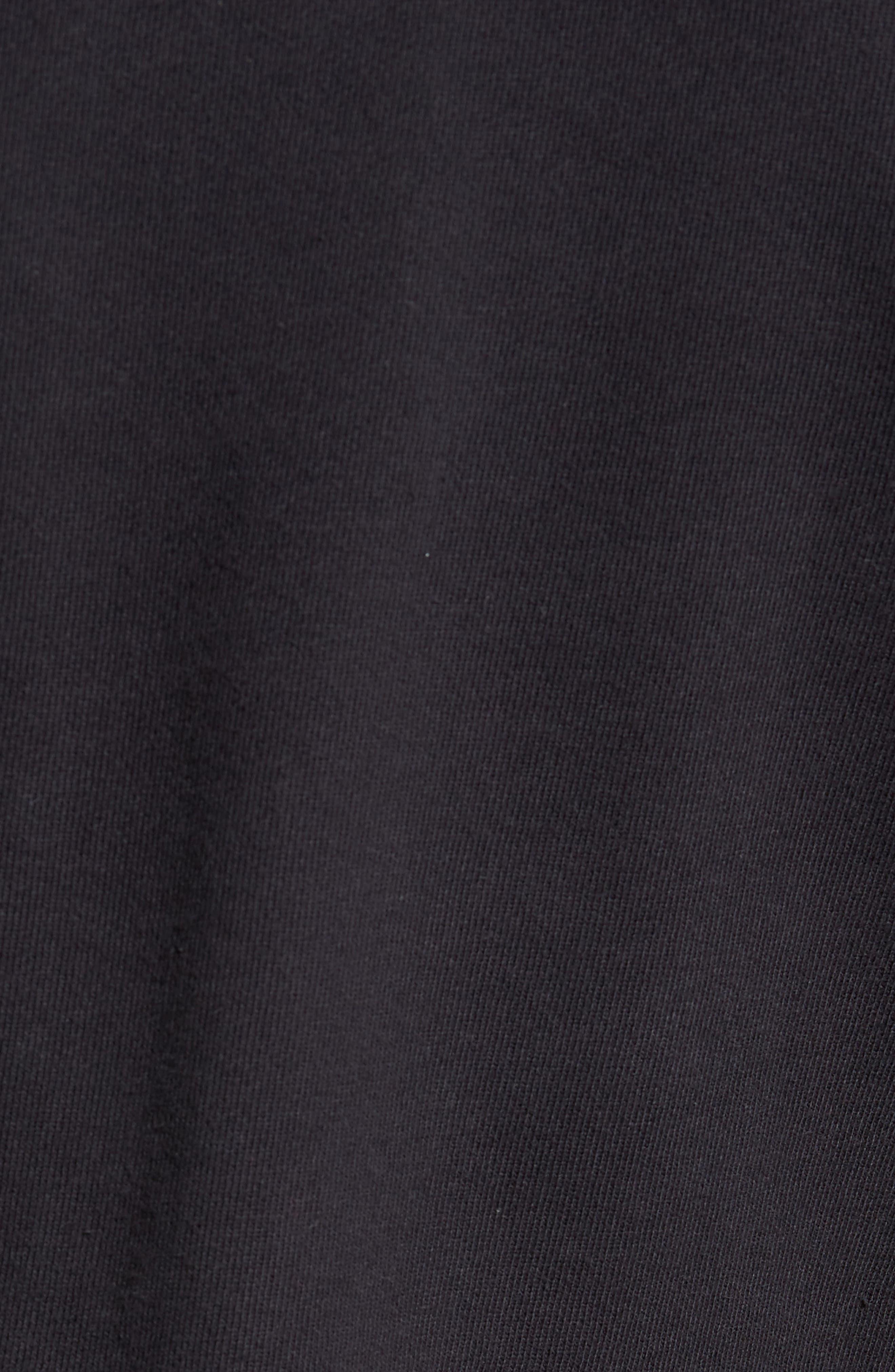 Distressed Sweatshirt,                             Alternate thumbnail 5, color,                             001