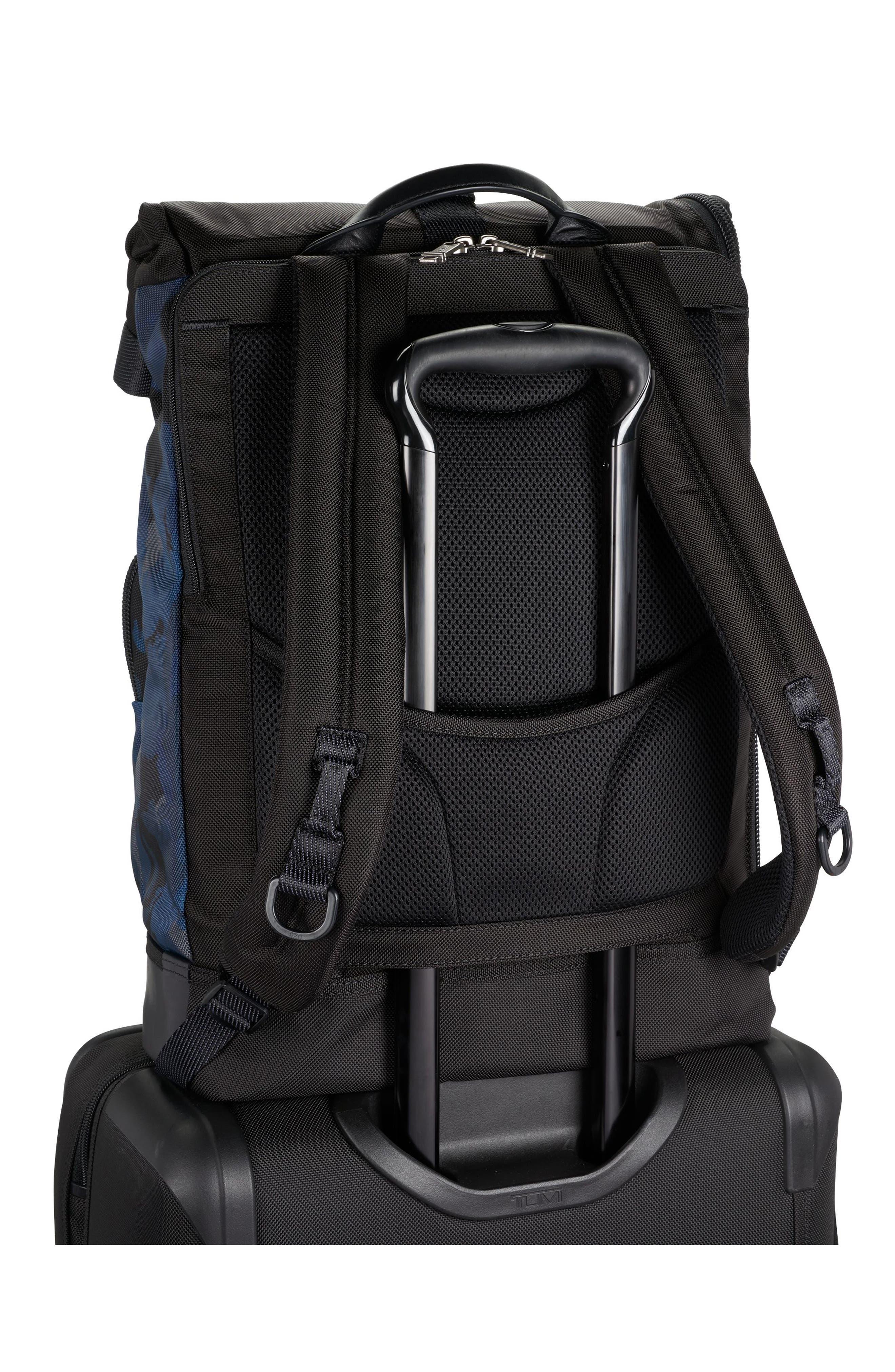 TUMI,                             Alpha Bravo Luke Roll Top Backpack,                             Alternate thumbnail 4, color,                             429