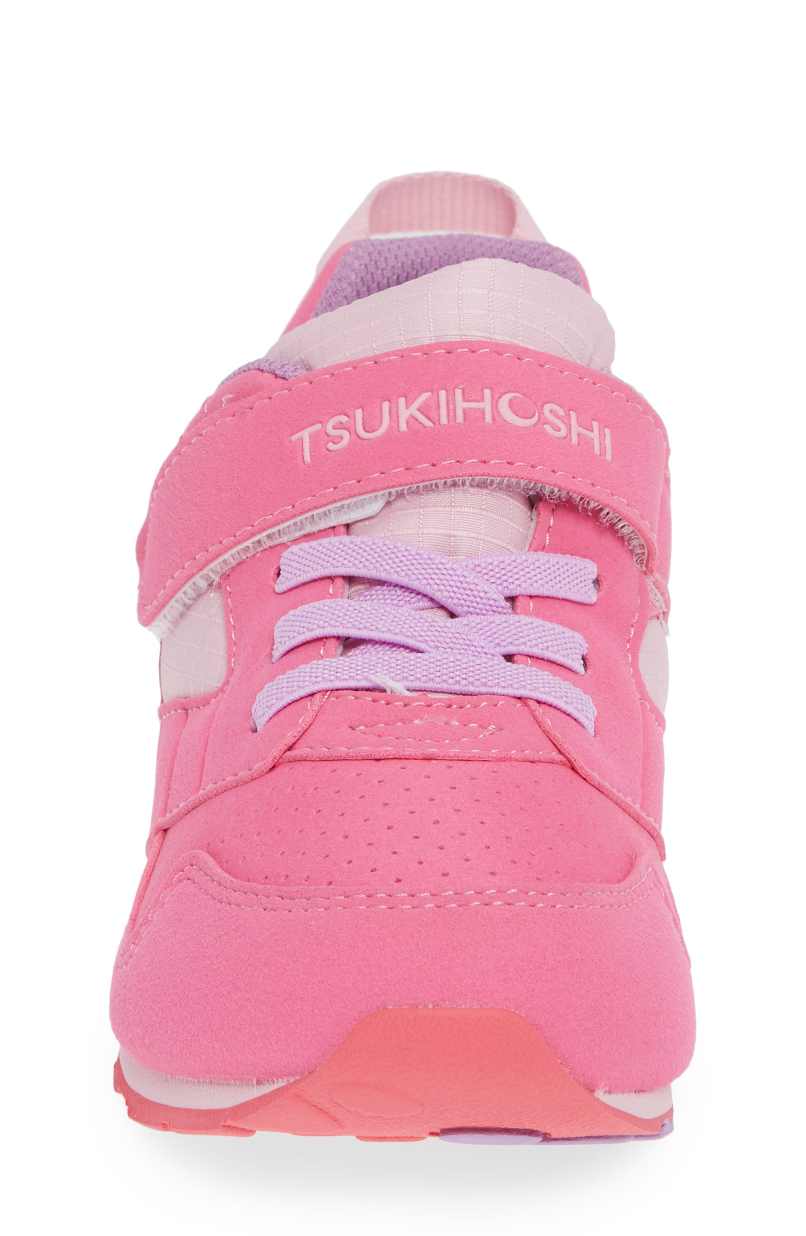 Racer Washable Sneaker,                             Alternate thumbnail 4, color,                             FUCHSIA/ PINK