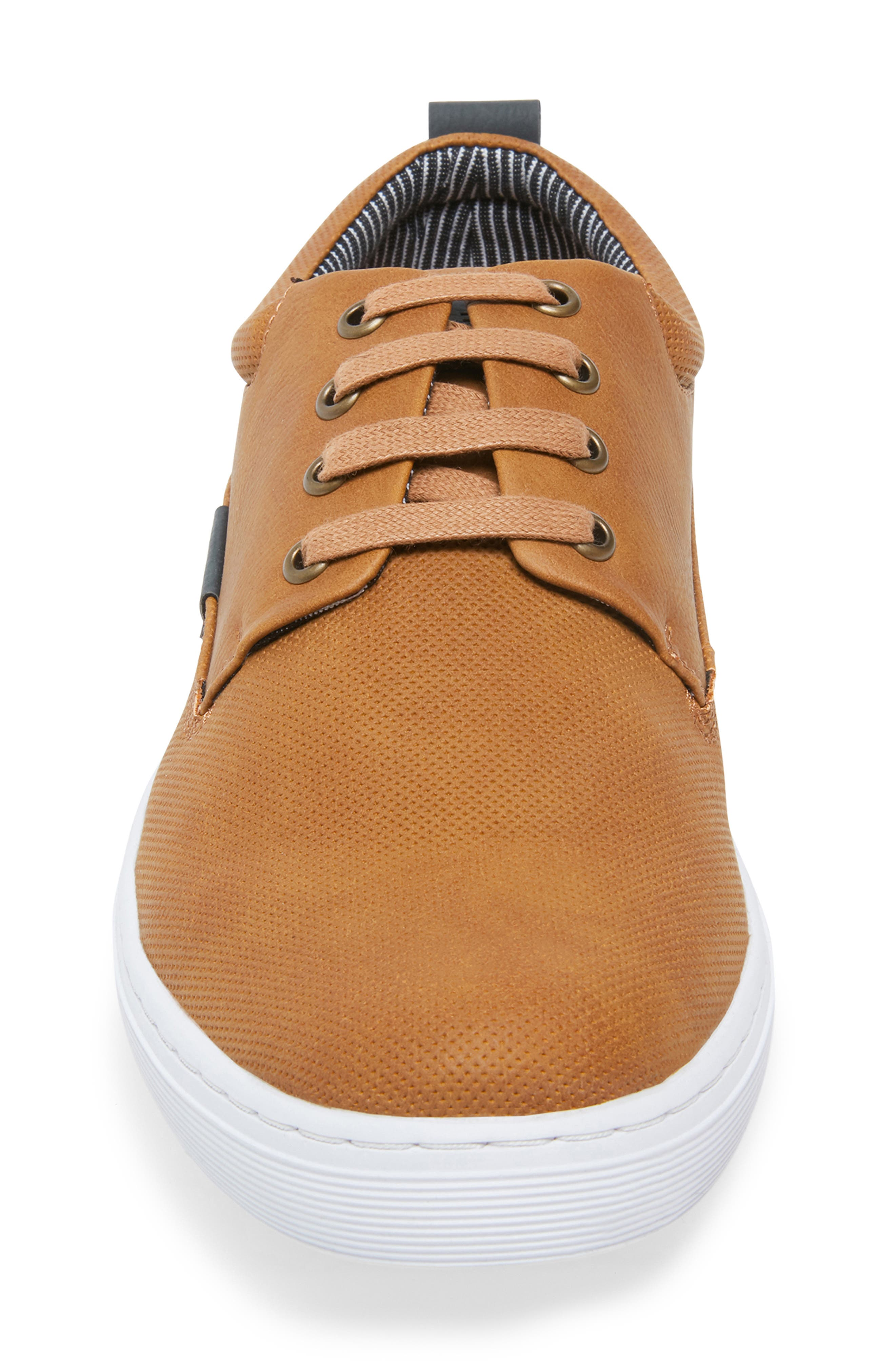 Halliday Sneaker,                             Alternate thumbnail 4, color,                             COGNAC