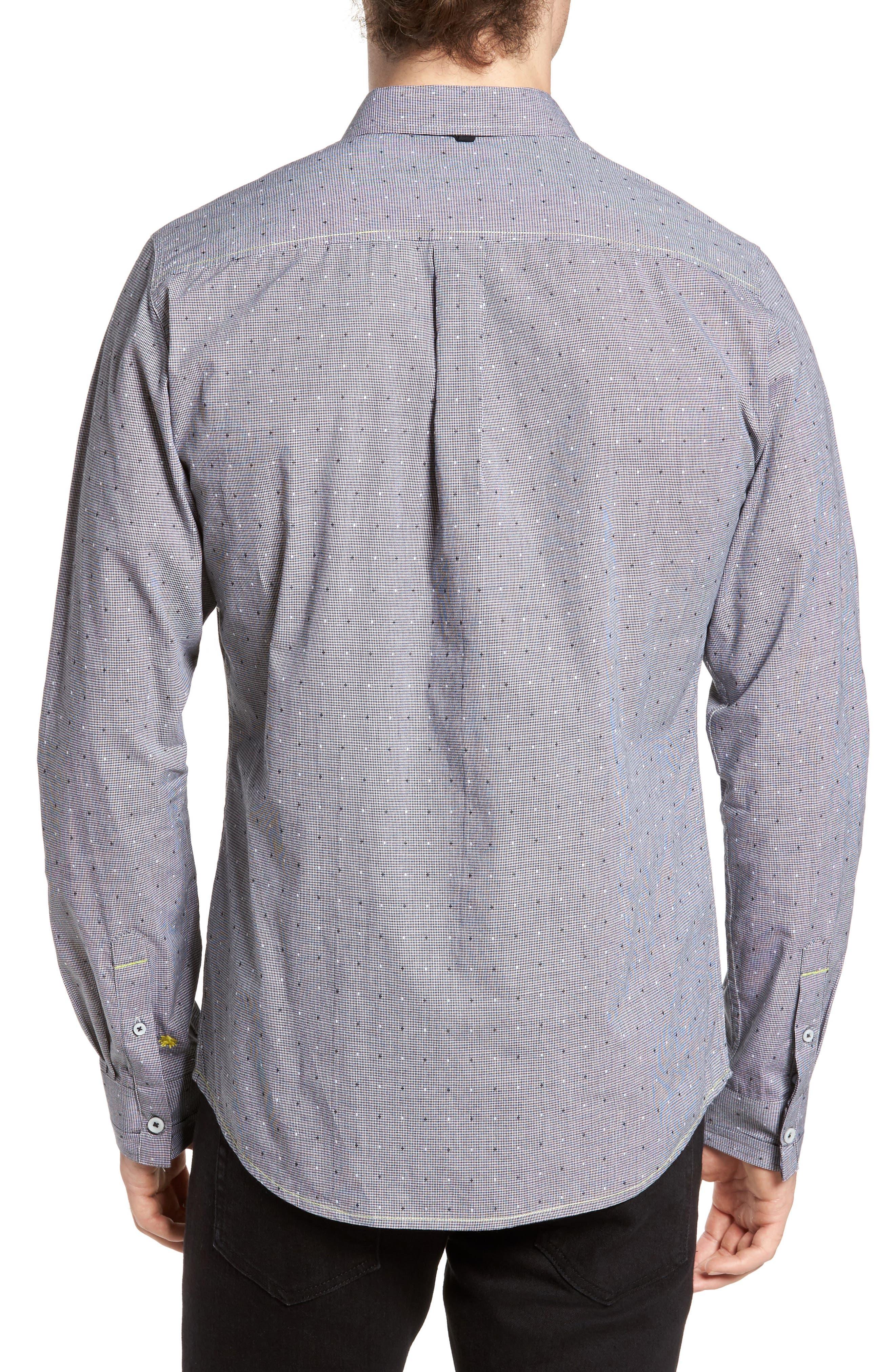 Cross the Check Sport Shirt,                             Alternate thumbnail 2, color,                             400