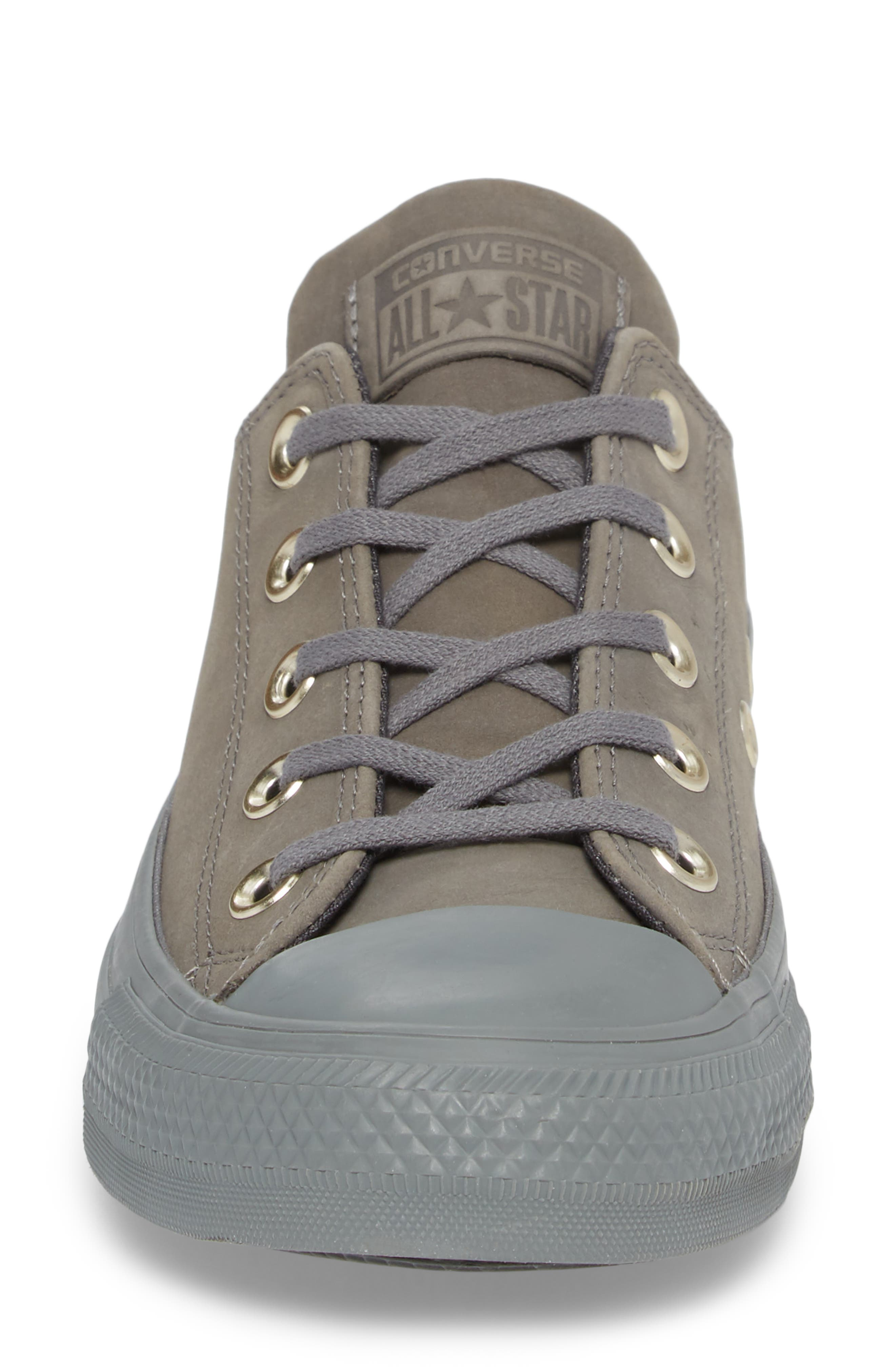 All Star<sup>®</sup> Nubuck OX Low Top Sneaker,                             Alternate thumbnail 4, color,                             028