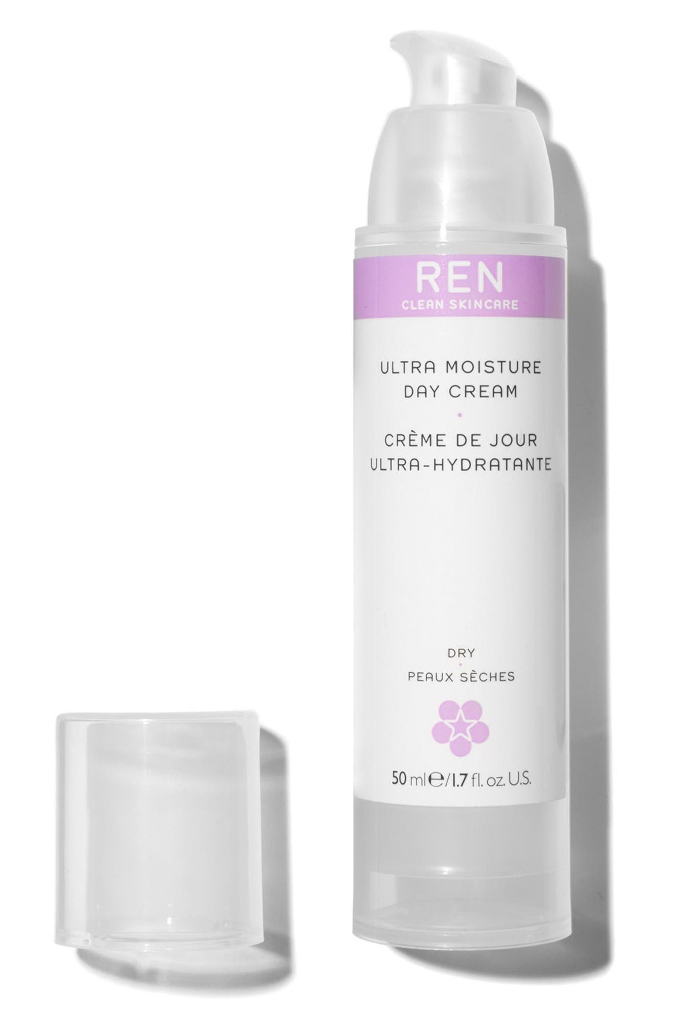 SPACE.NK.apothecary REN Ultra Moisture Day Cream,                             Alternate thumbnail 3, color,                             NO COLOR