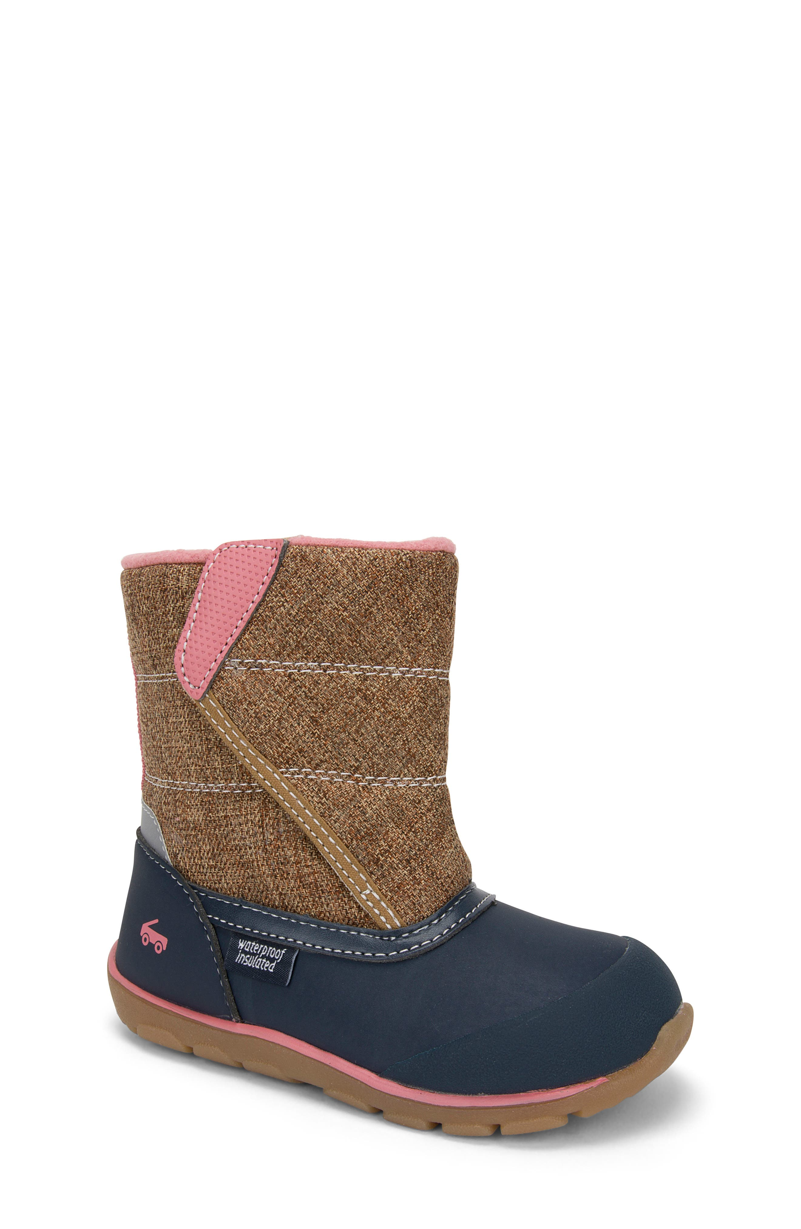 SEE KAI RUN,                             Baker Waterproof Insulated Boot,                             Main thumbnail 1, color,                             200