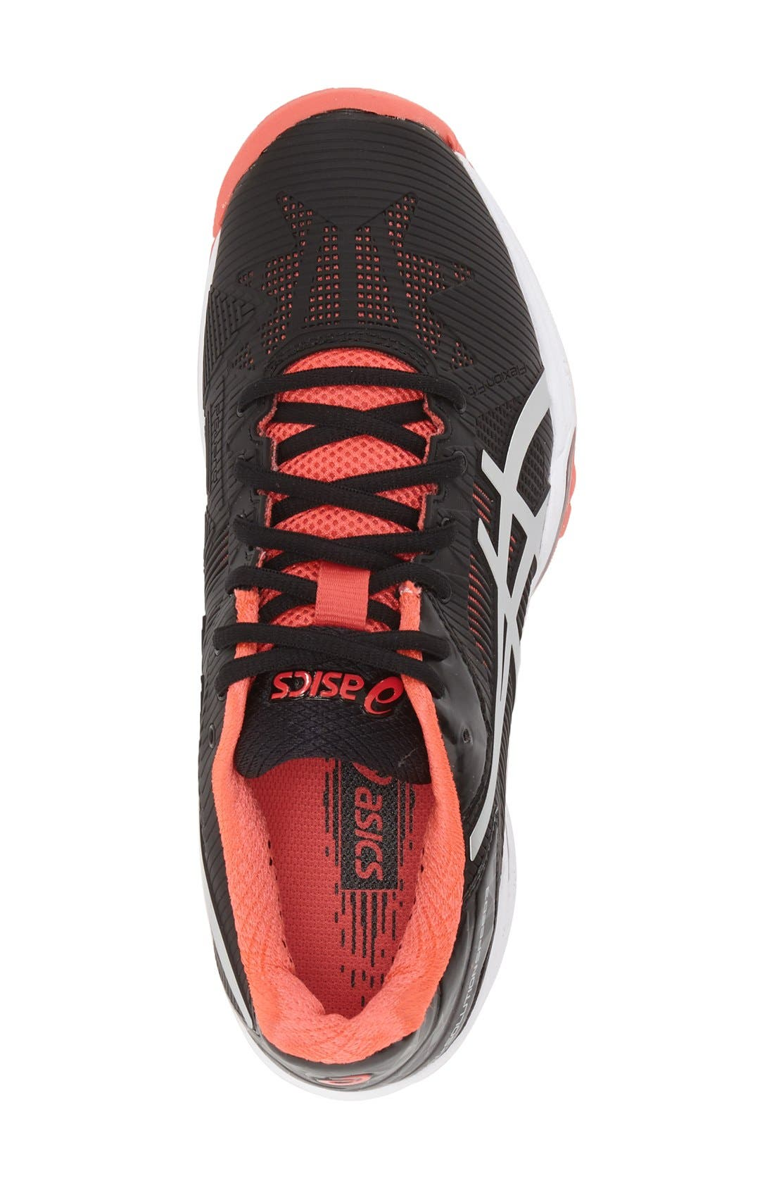 ASICS<SUP>®</SUP>,                             'GEL-Solution Speed 3' Tennis Shoe,                             Alternate thumbnail 4, color,                             001