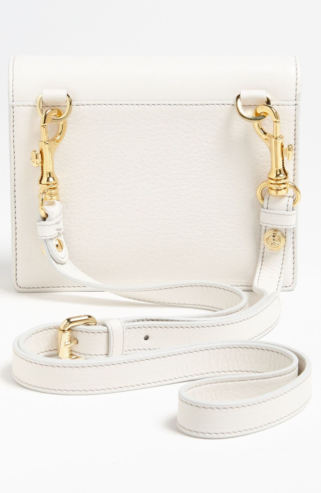 VERSACE,                             'Mini - Medusa' Leather Crossbody Bag,                             Alternate thumbnail 2, color,                             100