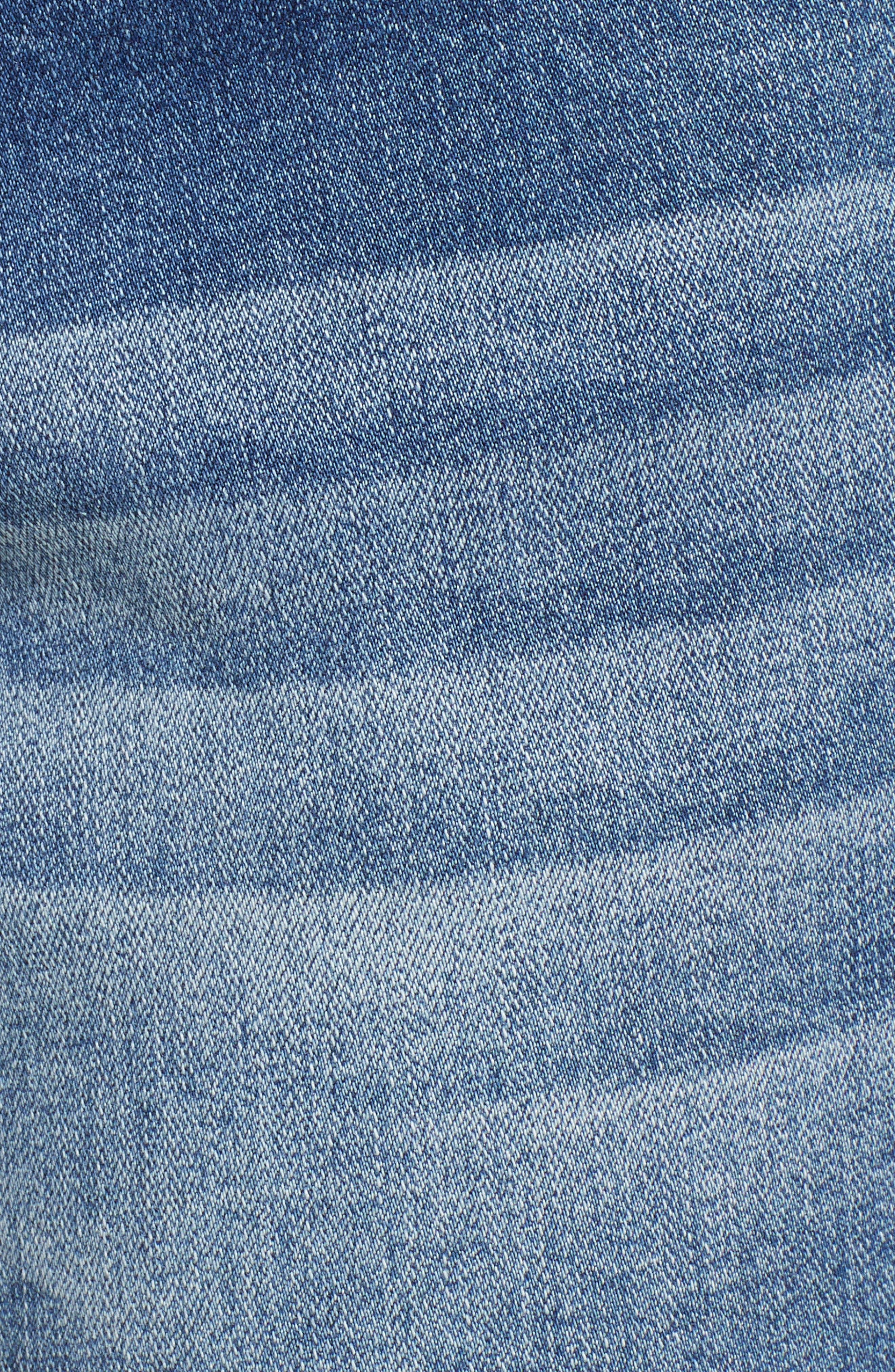 Ainsley 5 Denim Shorts,                             Alternate thumbnail 6, color,                             420