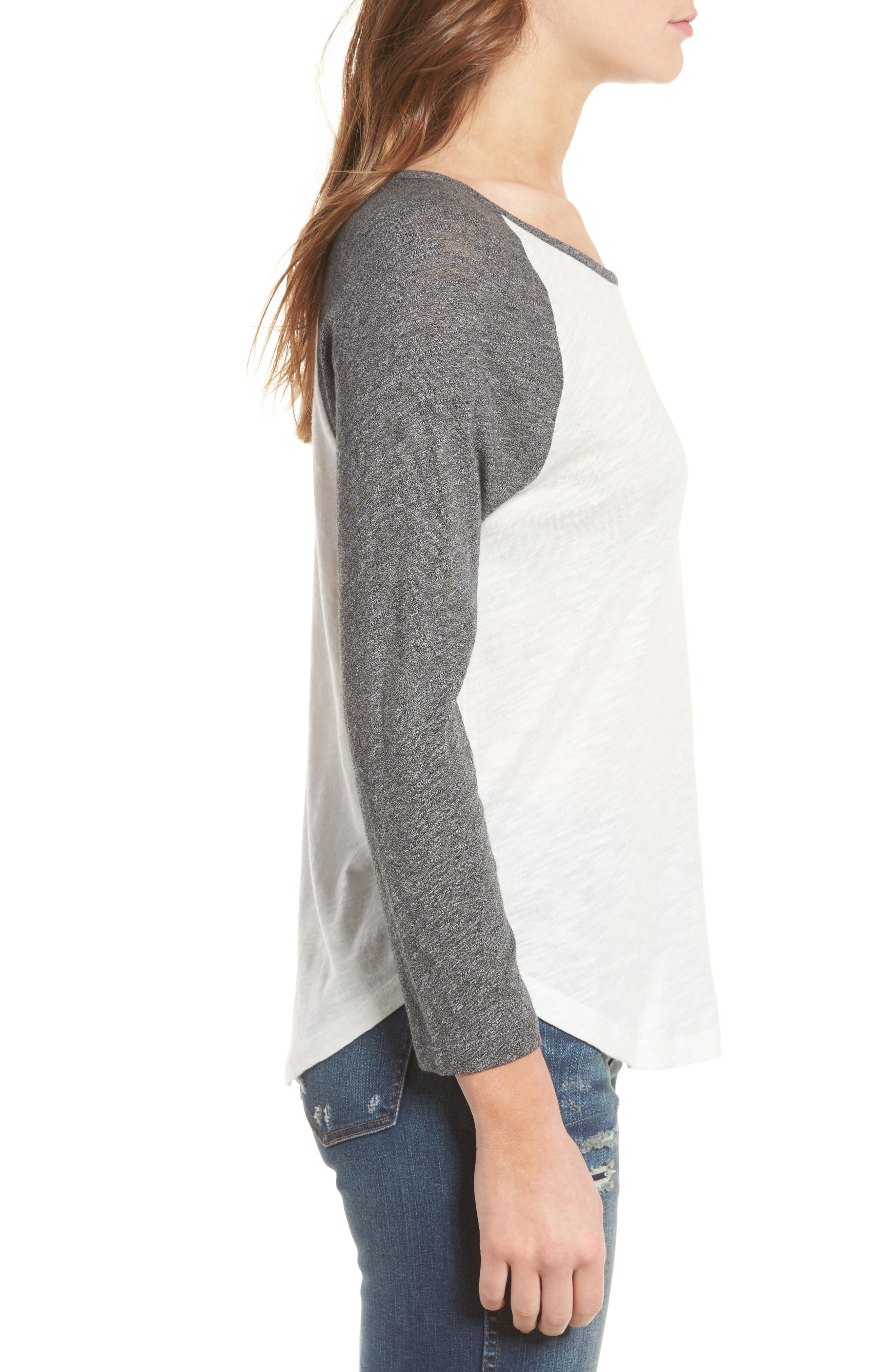 MADEWELL,                             Baseball Tee,                             Alternate thumbnail 3, color,                             021