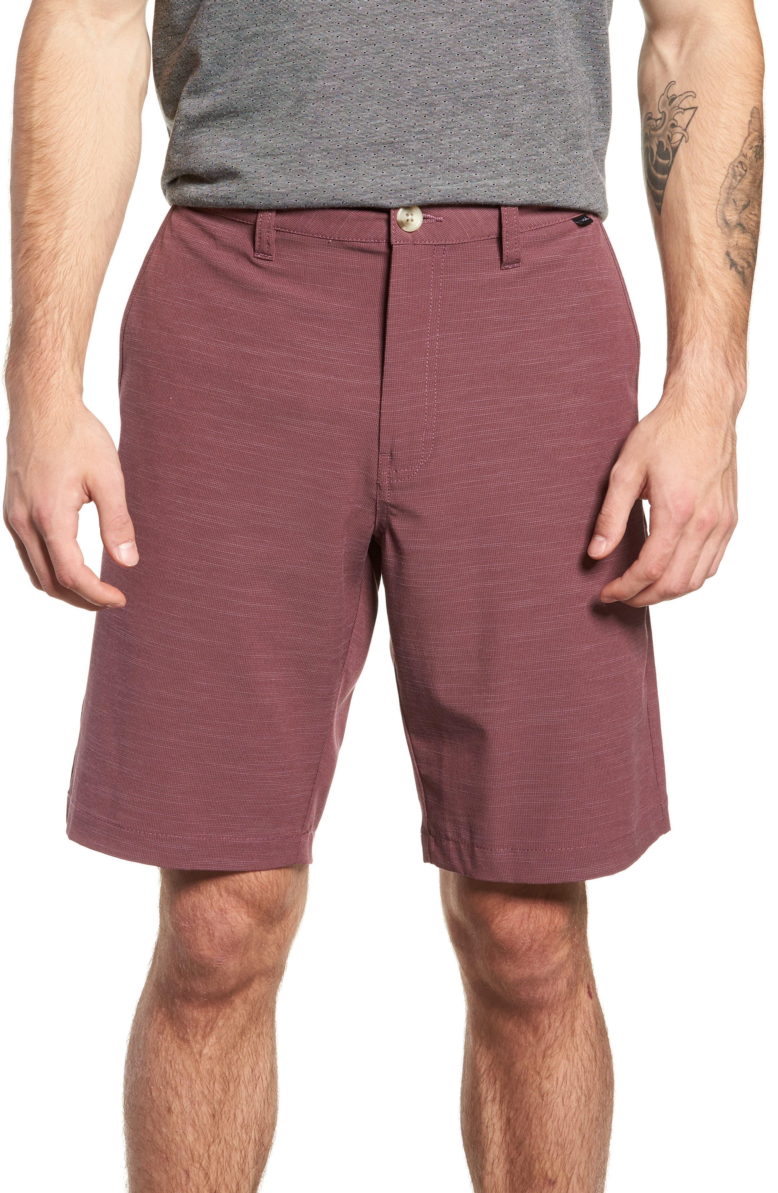 Tuner Shorts,                             Main thumbnail 1, color,                             EGGPLANT