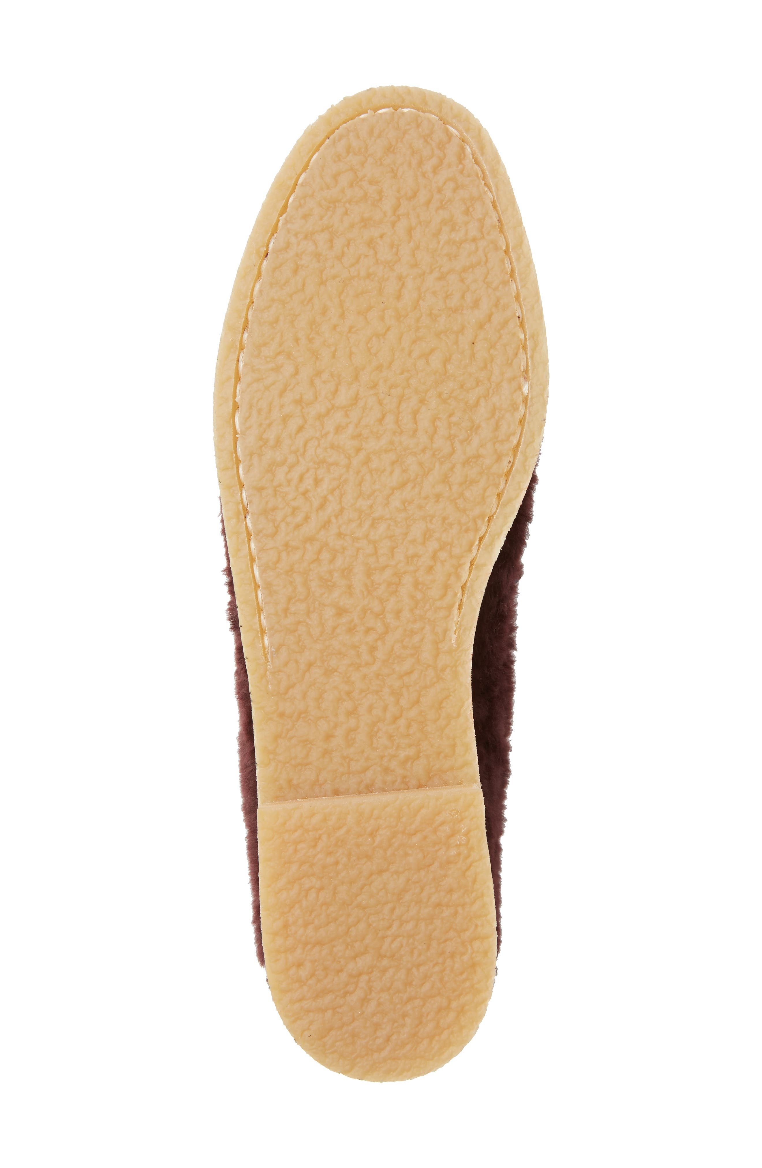 Bromley Genuine Shearling Loafer,                             Alternate thumbnail 18, color,