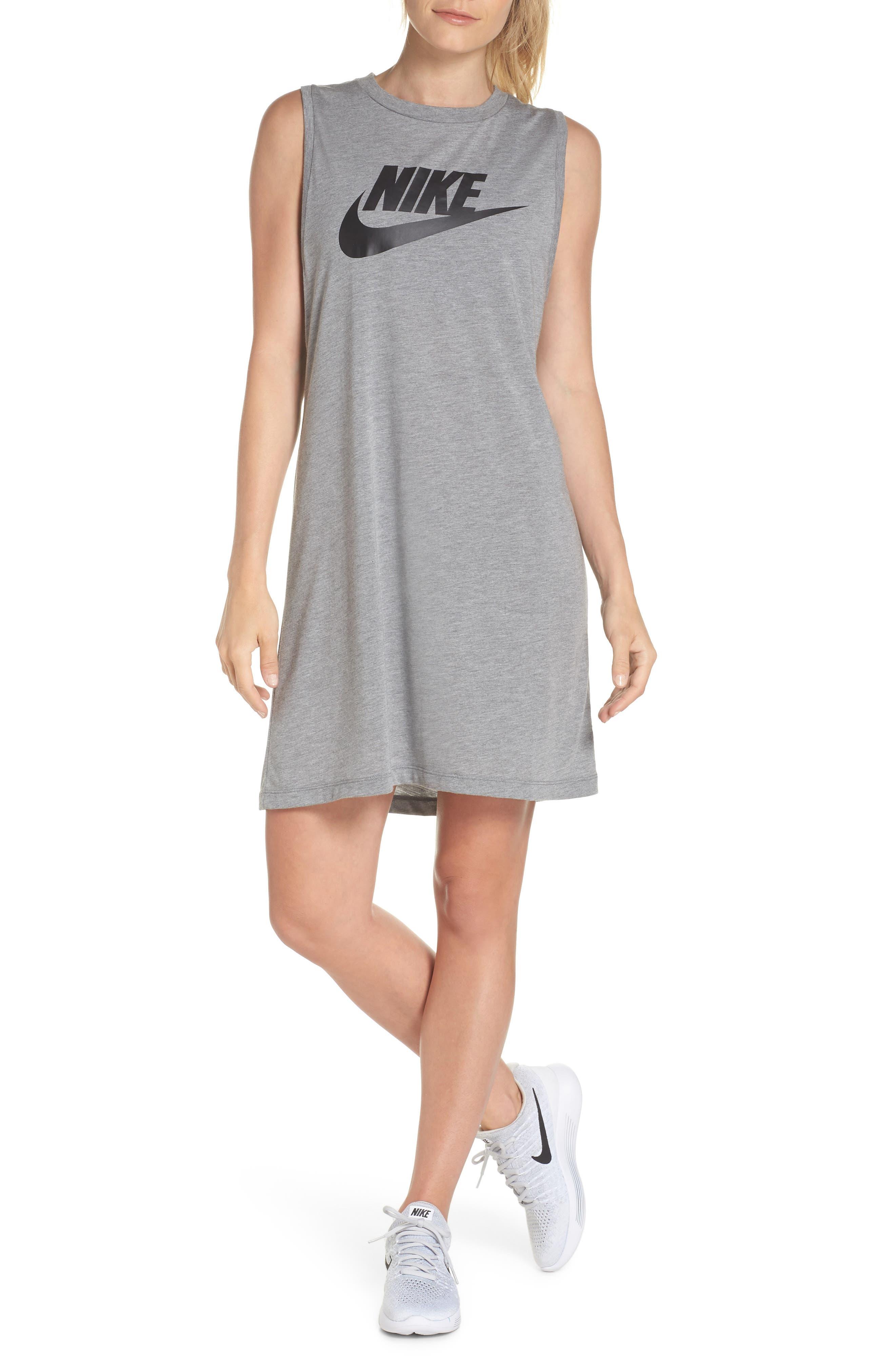 Sportswear Sleeveless Dress,                             Alternate thumbnail 10, color,