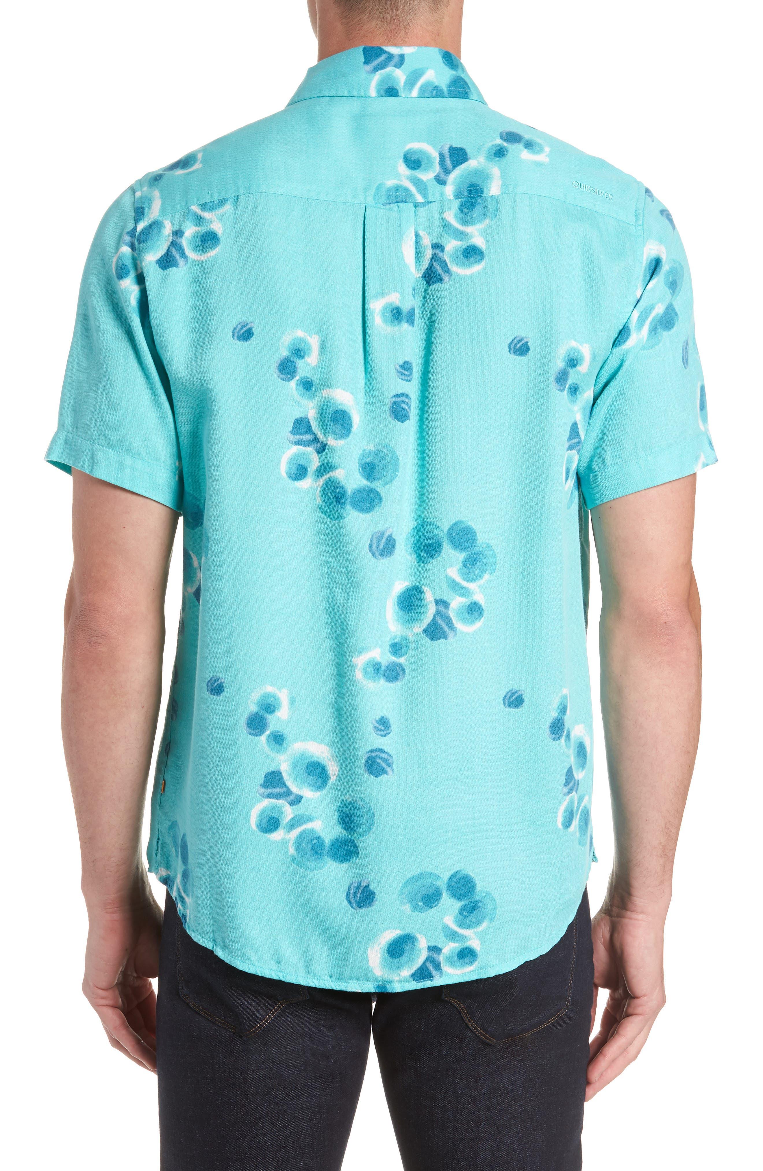 Plumes Dune Regular Fit Sport Shirt,                             Alternate thumbnail 2, color,                             BLUE RADIANCE