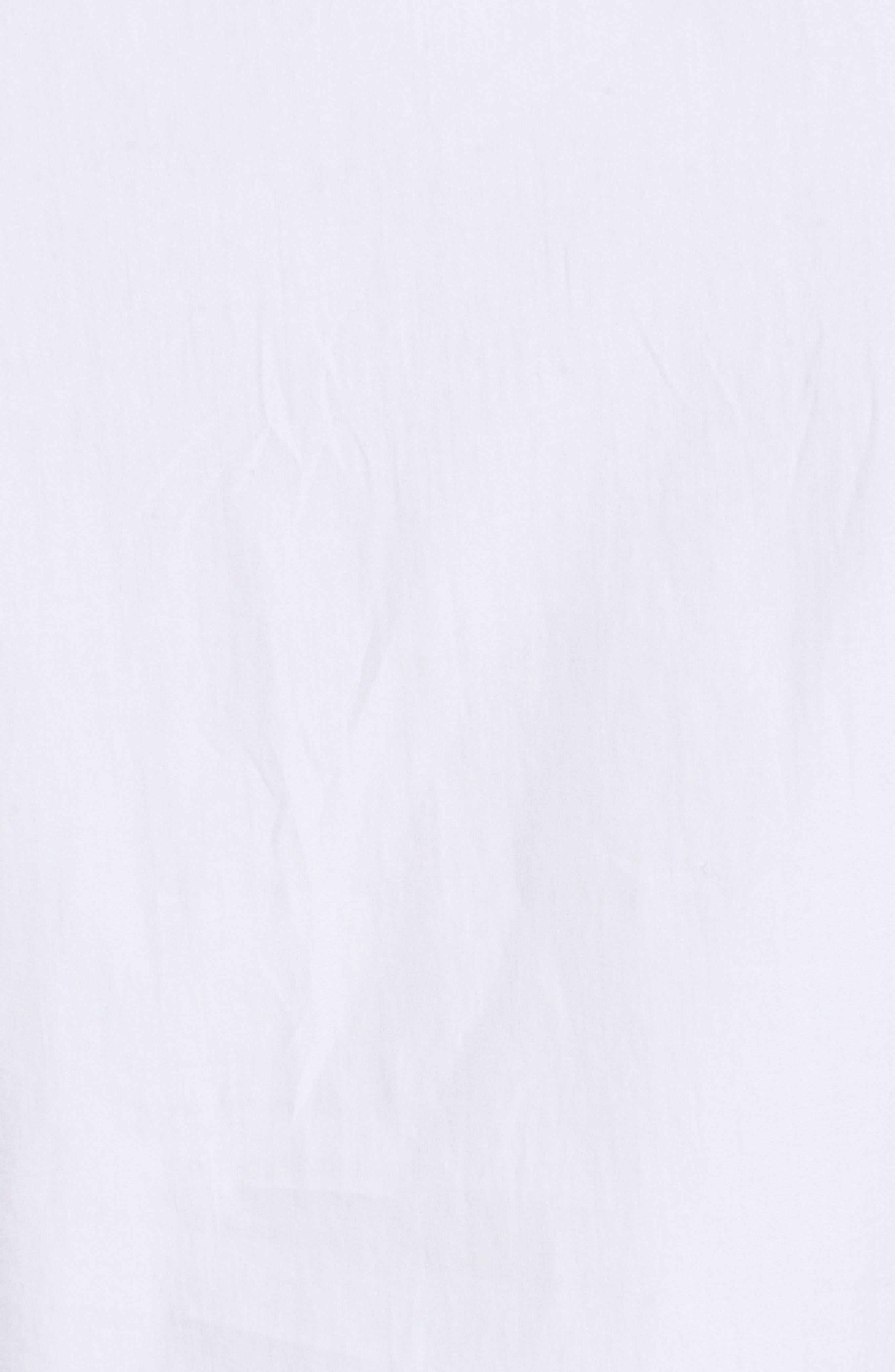 Sleeveless Peplum Cotton Blouse,                             Alternate thumbnail 6, color,                             100
