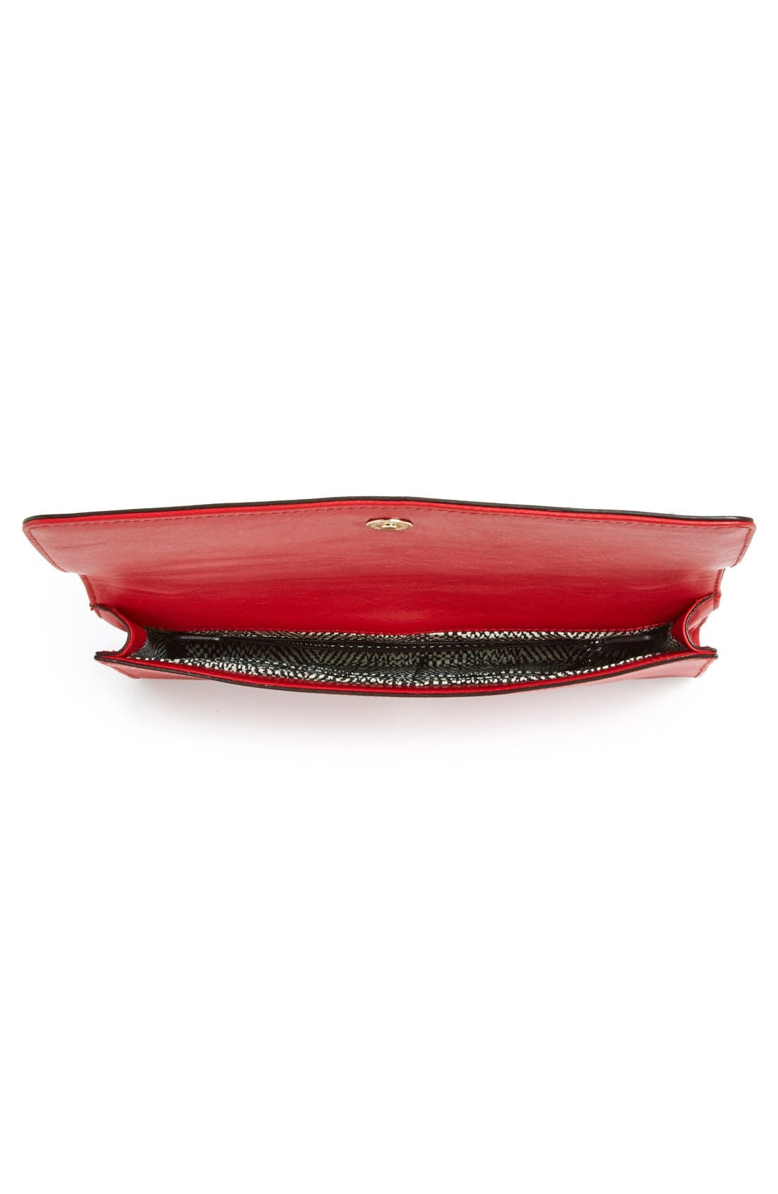 REBECCA MINKOFF,                             'Amorous' Clutch with Studs,                             Alternate thumbnail 2, color,                             600